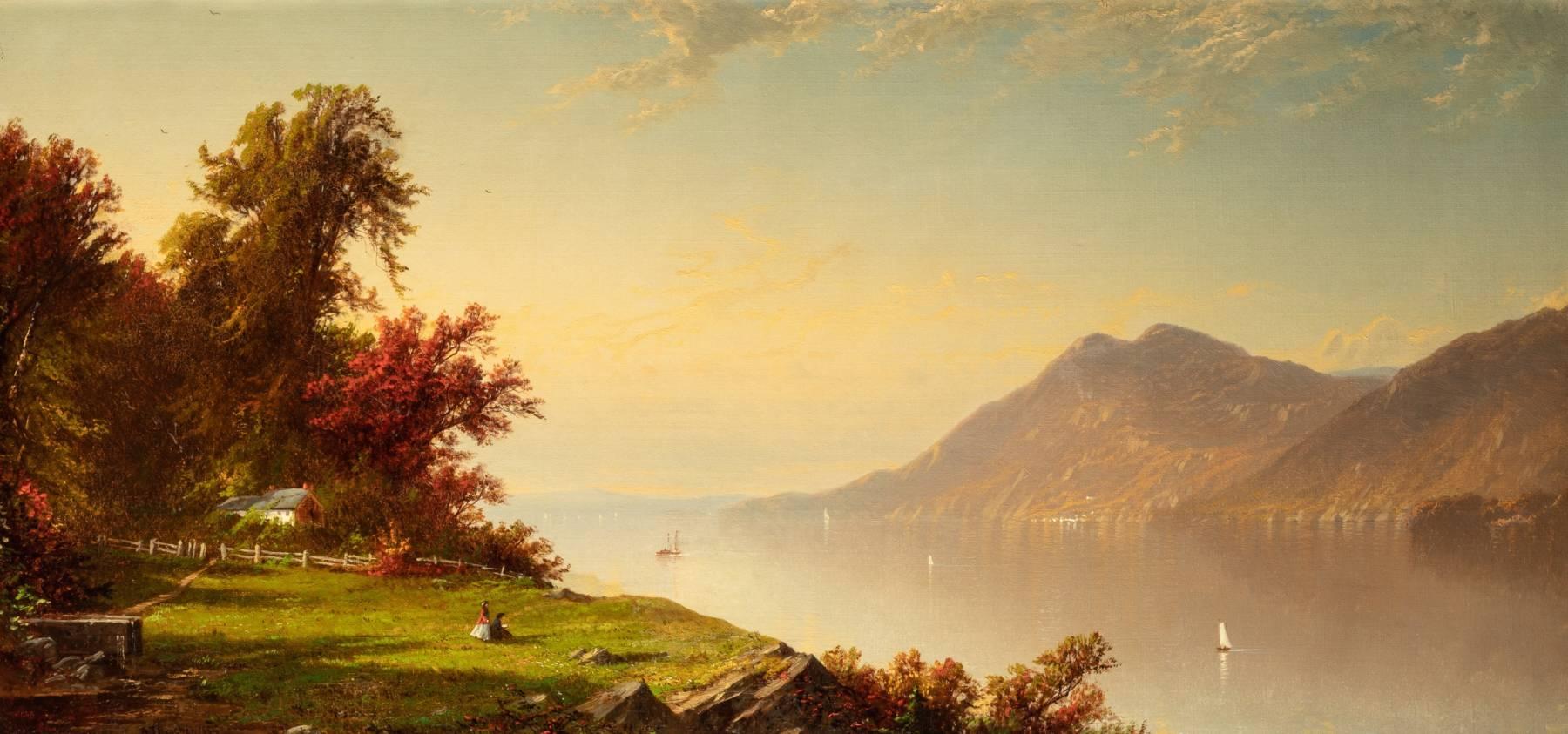 Alfred Thomson Bricher, Le Fleuve Hudson à West Point