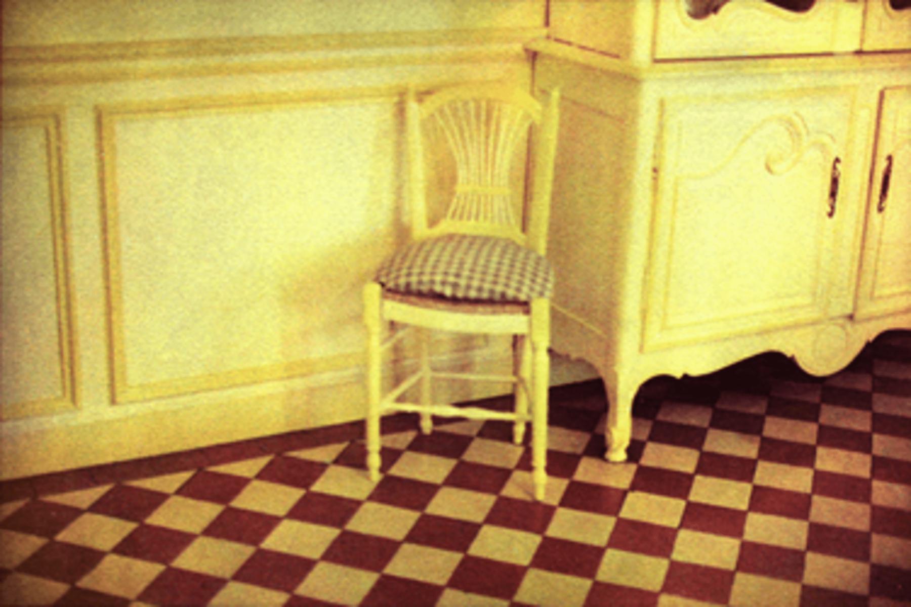 Bernard Plossu, Salle à manger de la maison de Claude Monet, Giverny