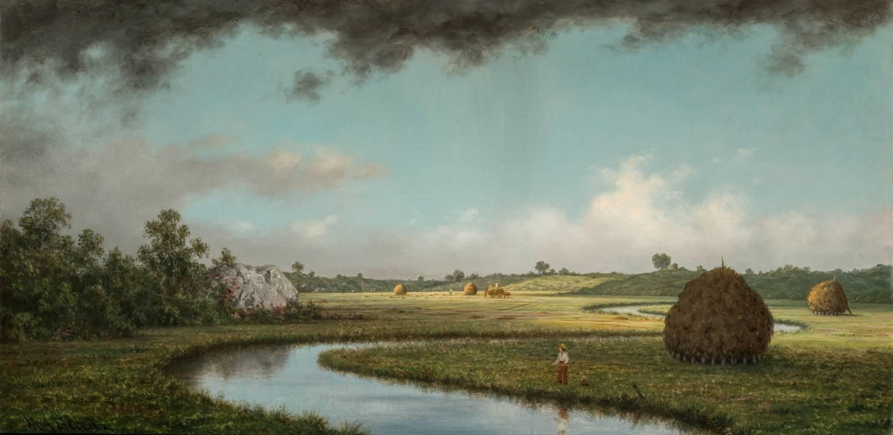 Martin Johnson Heade, Le Marais de Newburyport : l'approche de l'orage