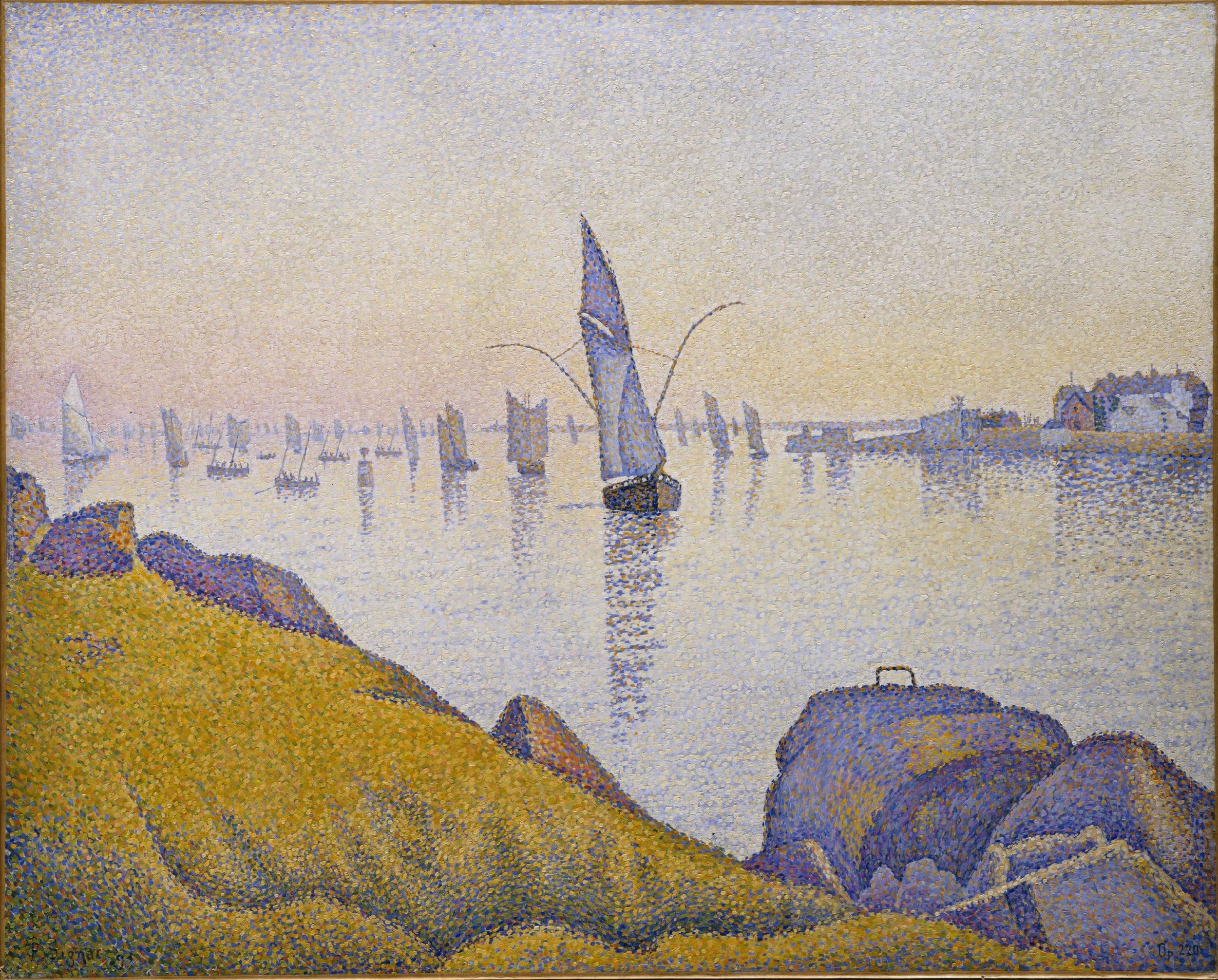 Paul Signac, Concarneau, calme du soir, opus 220 (Allegro Maestoso)