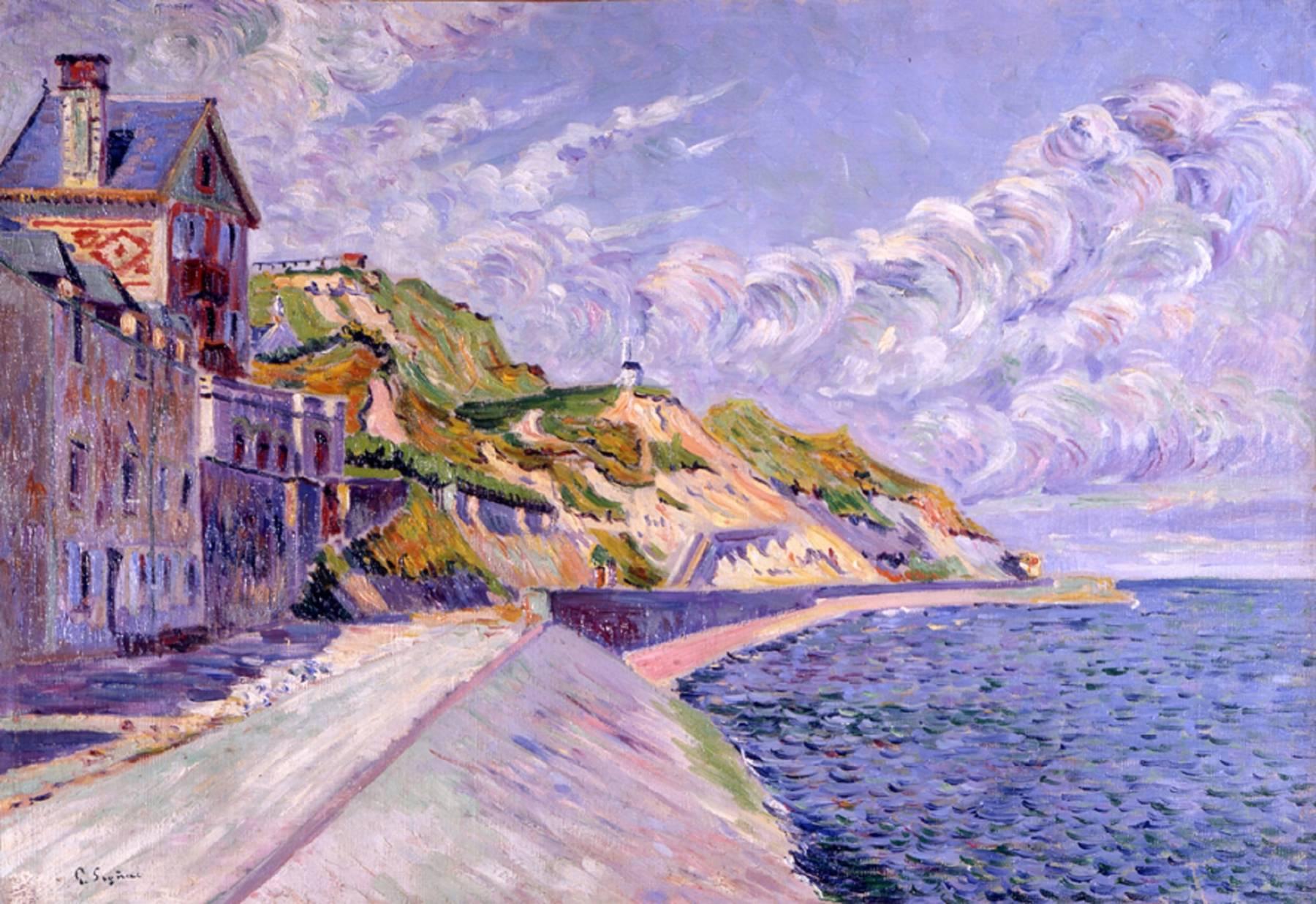 Paul Signac, Port-en-Bessin. Le Catel