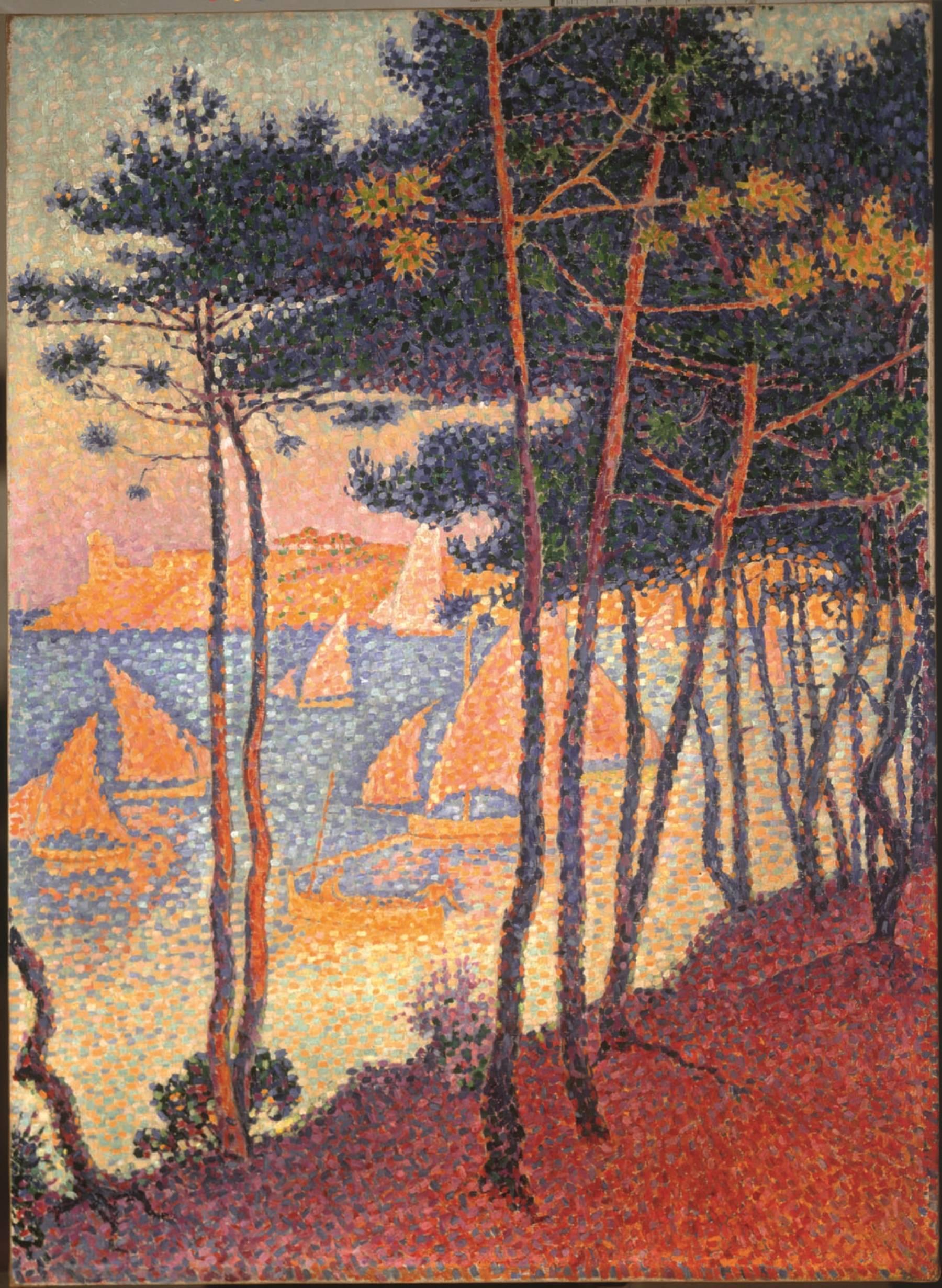 Paul Signac, Voiles et pins