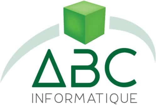 Logo ABC Informatique, mécène du musée des impressionnismes Giverny