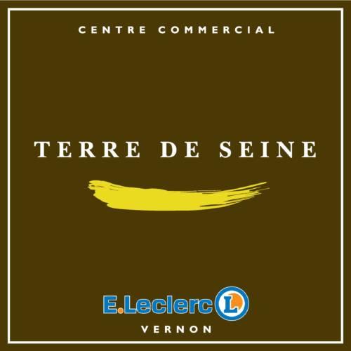 Logo Leclerc Terre de Seine, mécène du musée des impressionnismes Giverny