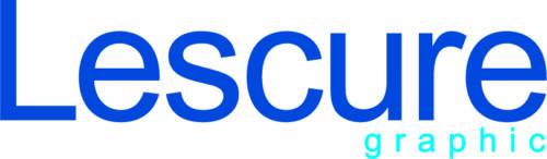 Logo Lescure Graphic, mécène du musée des impressionnismes Giverny