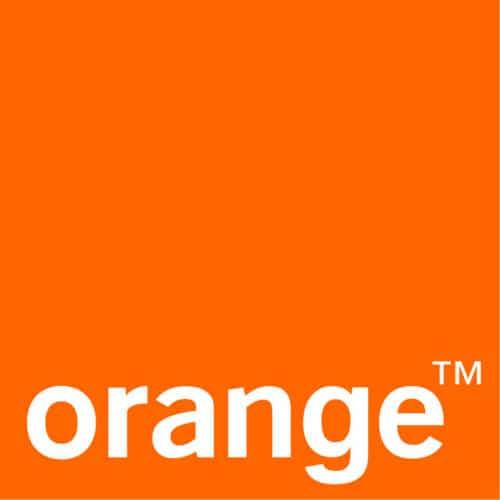 Logo Orange, partenaire du musée des impressionnismes Giverny