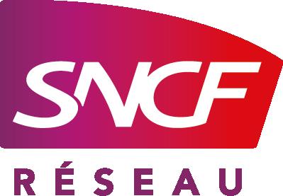Logo SNCF Réseau, mécène du musée des impressionnismes Giverny
