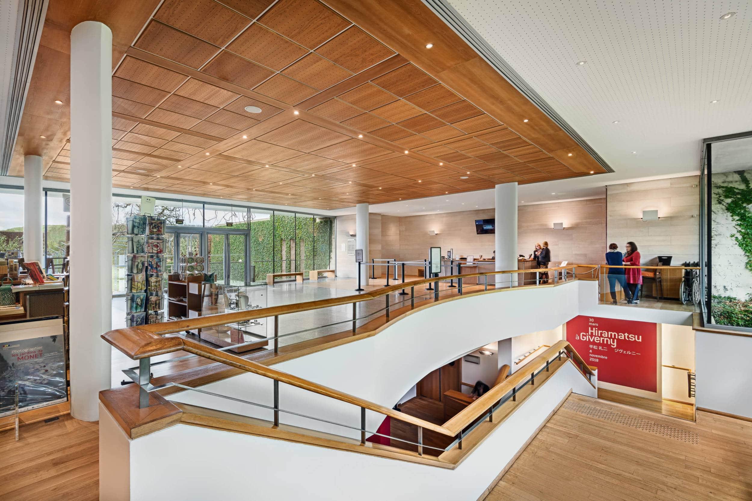 Hall du musée des impressionnismes Giverny