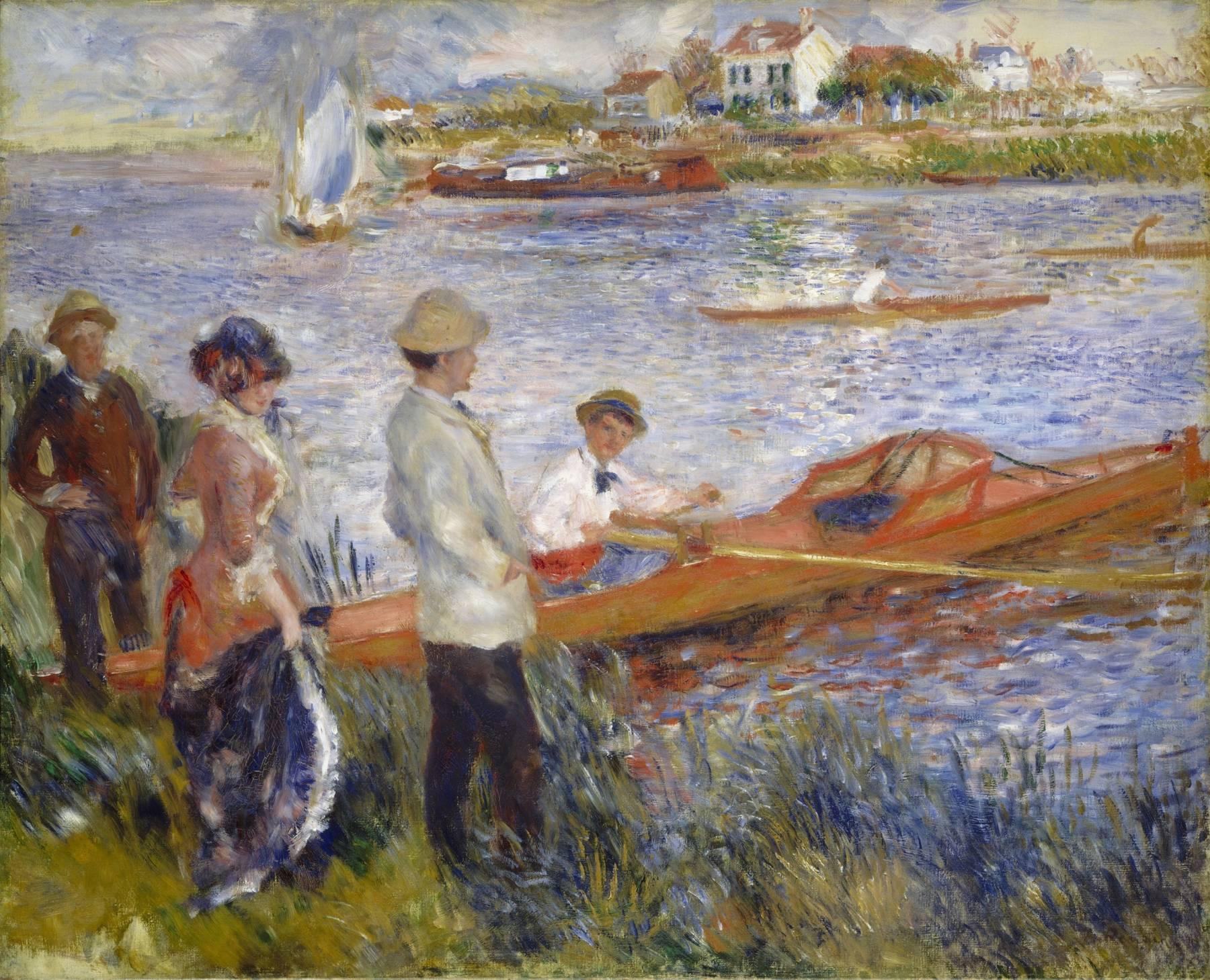 Auguste Renoir, Les Canotiers à Chatou