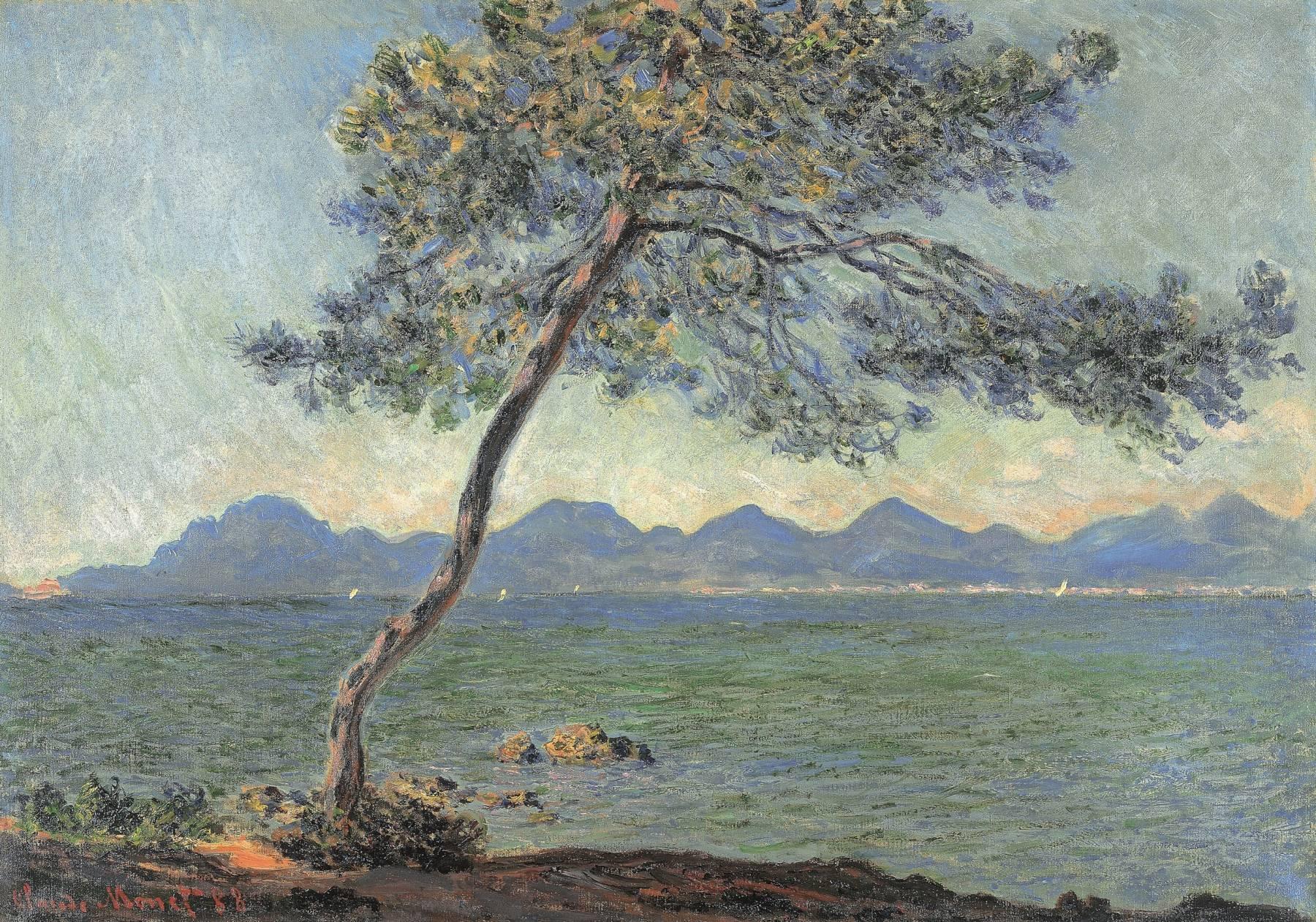 Claude Monet, Au cap d'Antibes