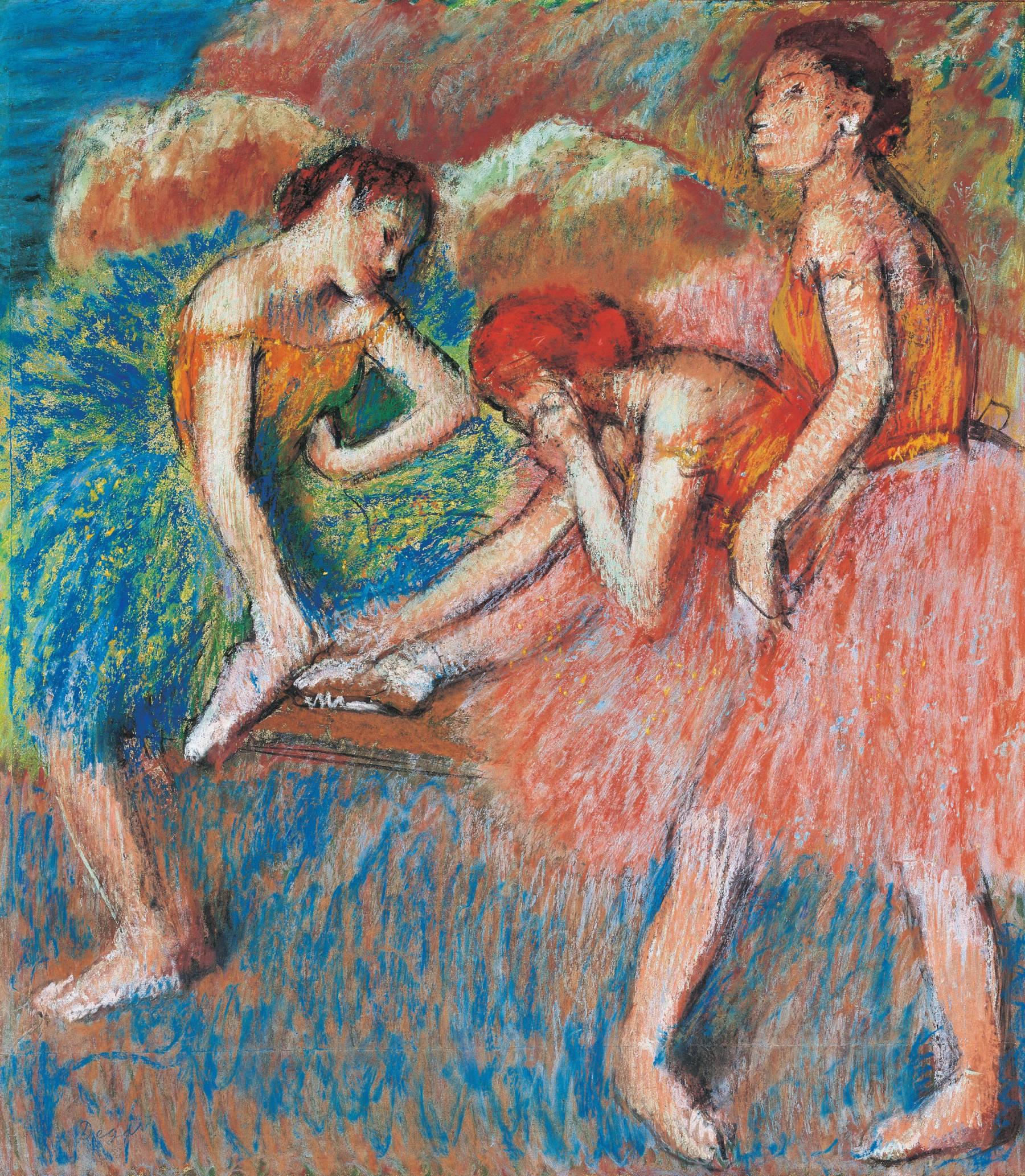 Edgar Degas, Danseuses (Danseuses au repos)