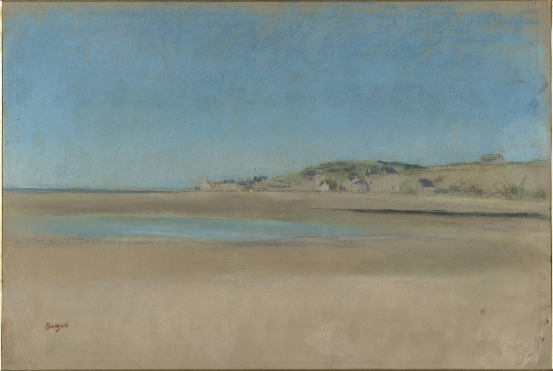 Edgar Degas, Maisons au bord de la mer