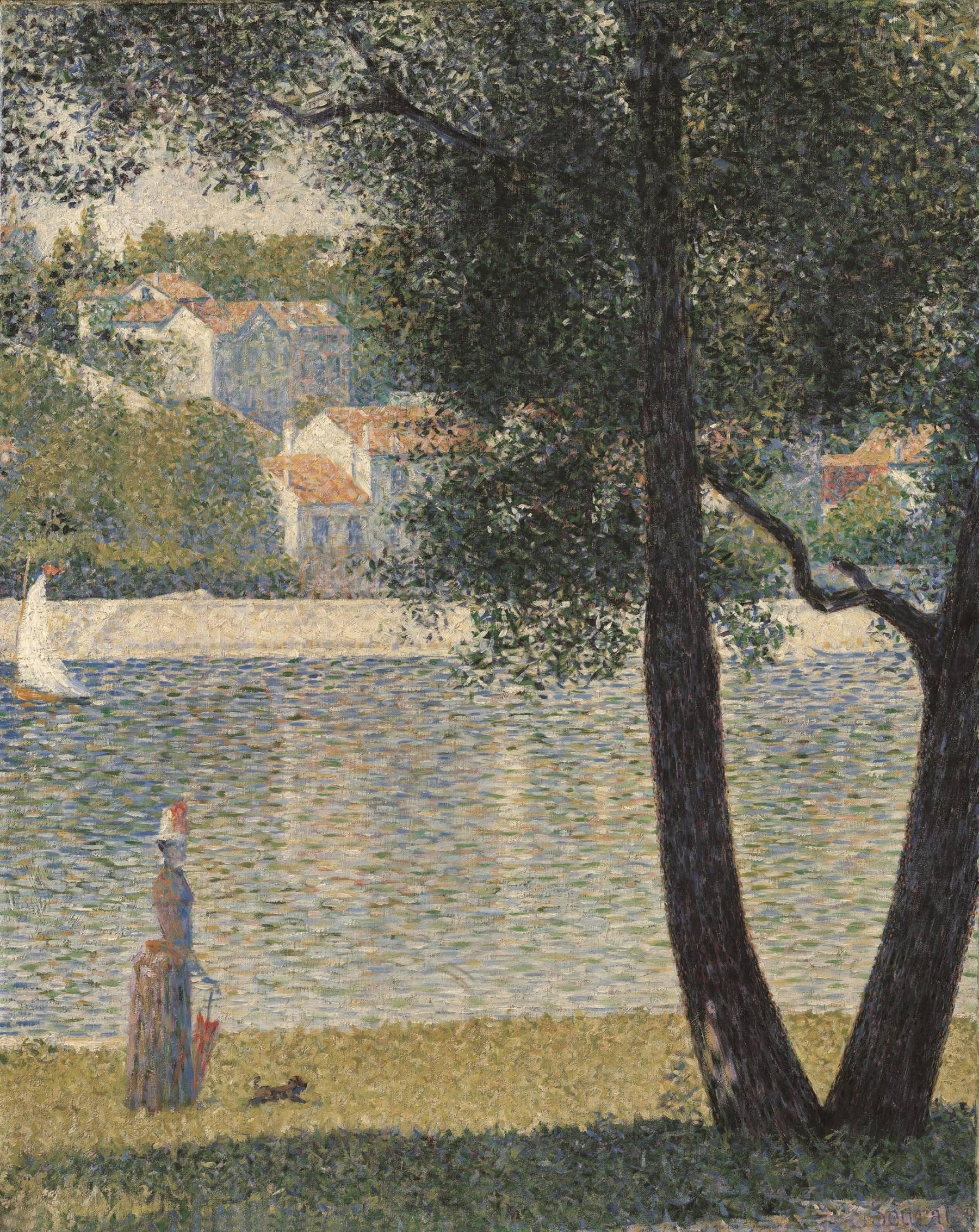 Georges Seurat, La Seine à Courbevoie