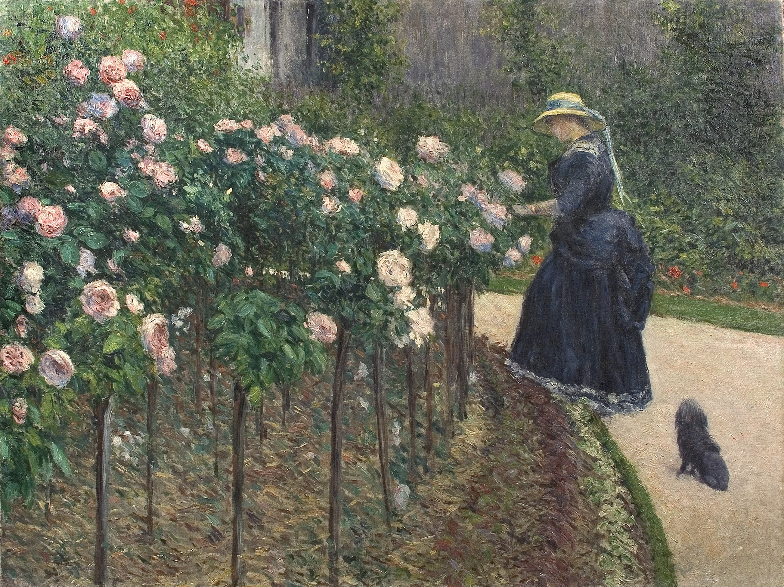 Caillebotte peintre et jardinier for Jardins de jardiniers