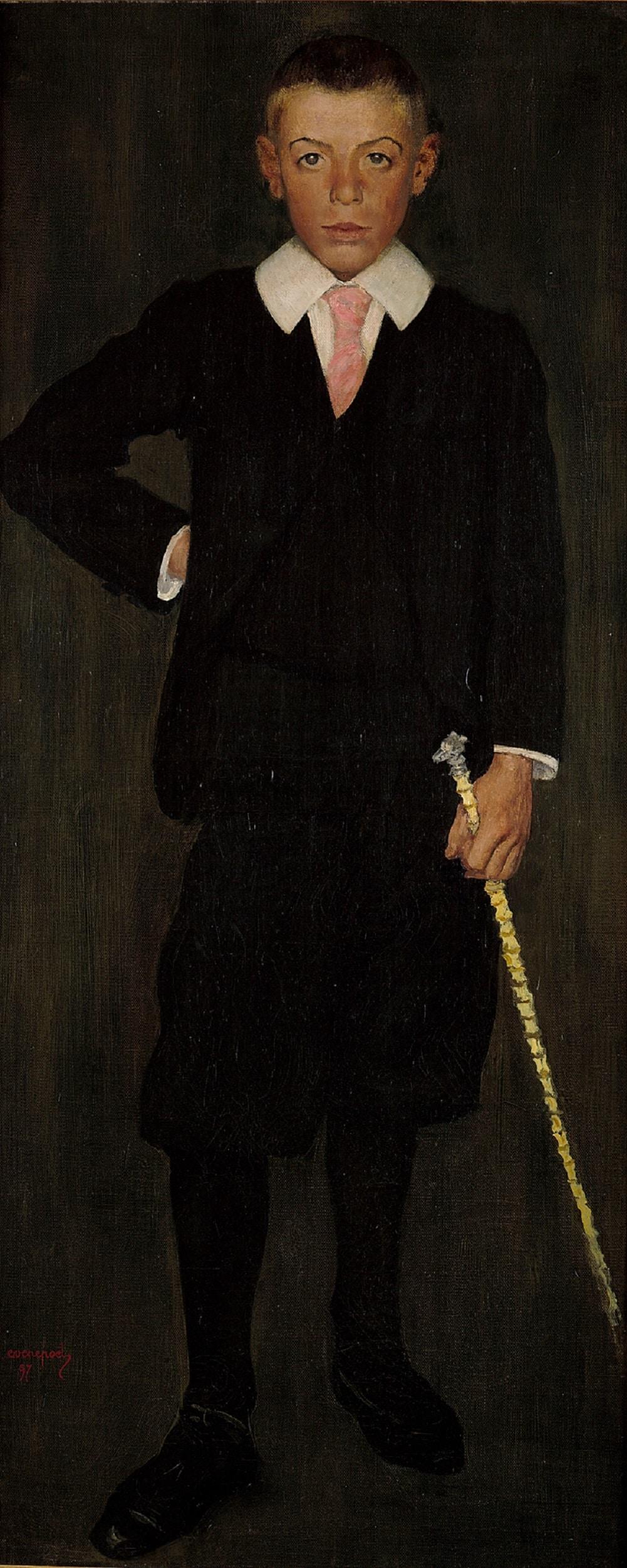 Henri Evenepoel, Portrait d'Albert Devis