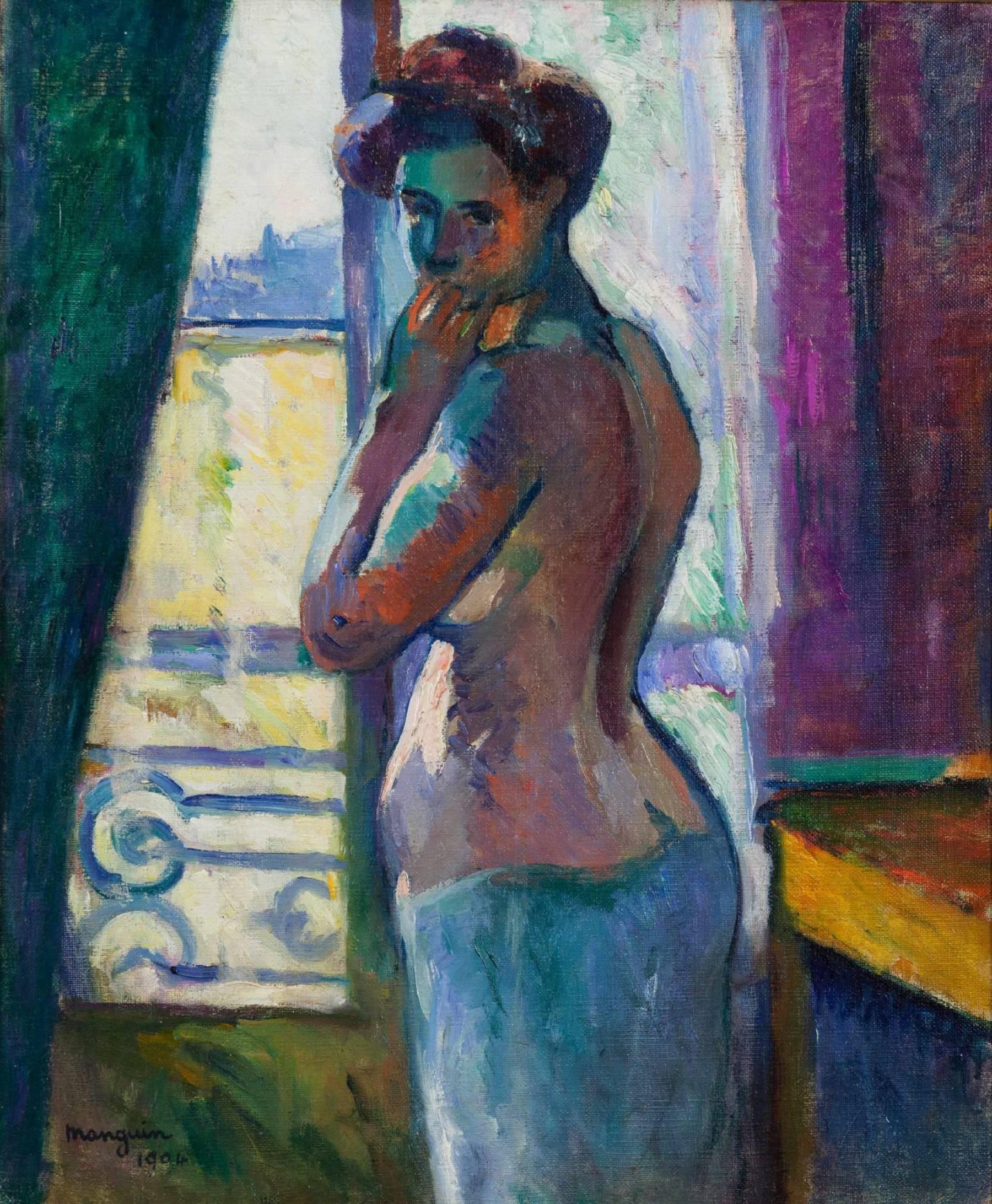 Henri Manguin, Devant la fenêtre, rue Boursault