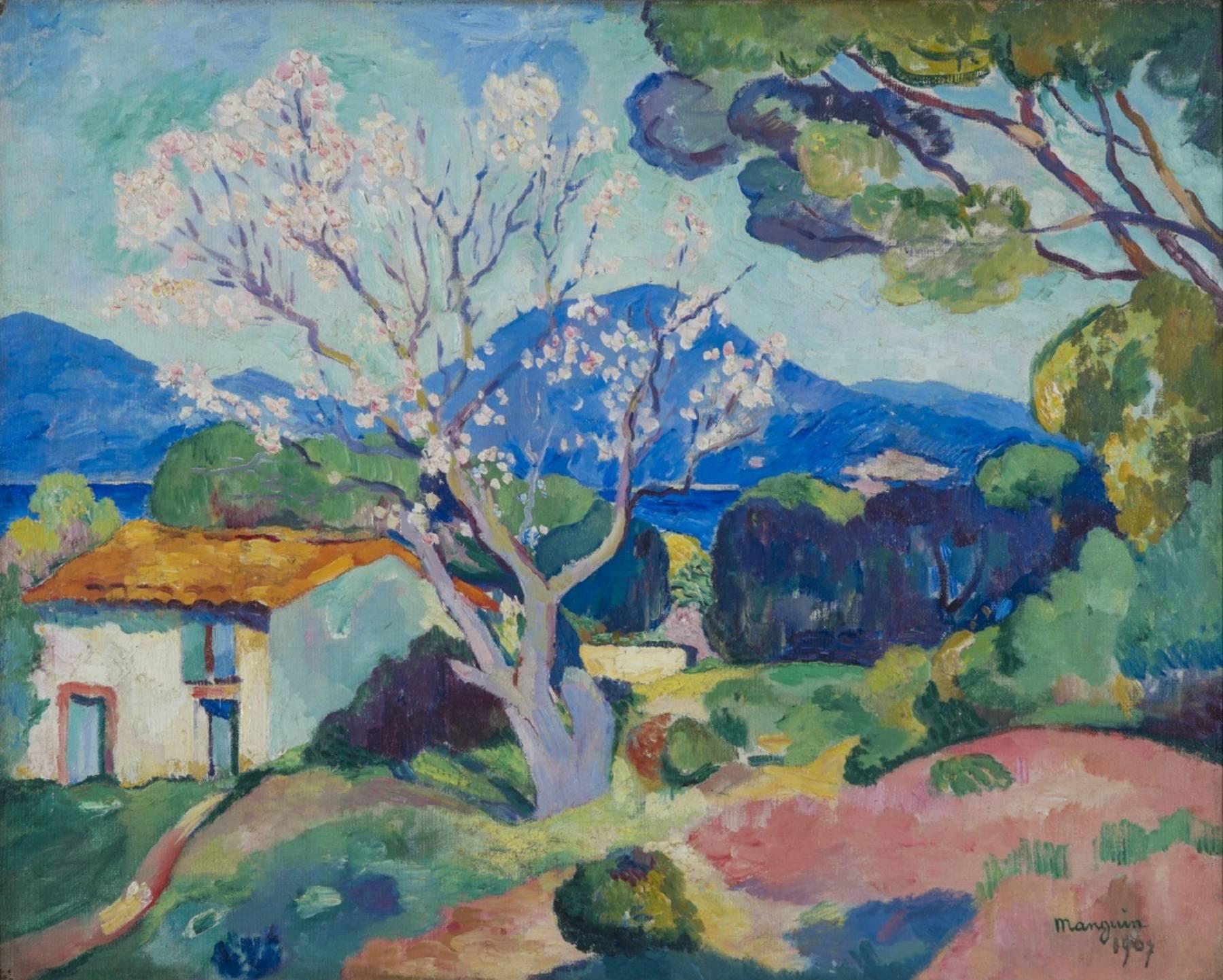 Henri Manguin, L'Amandier en fleurs