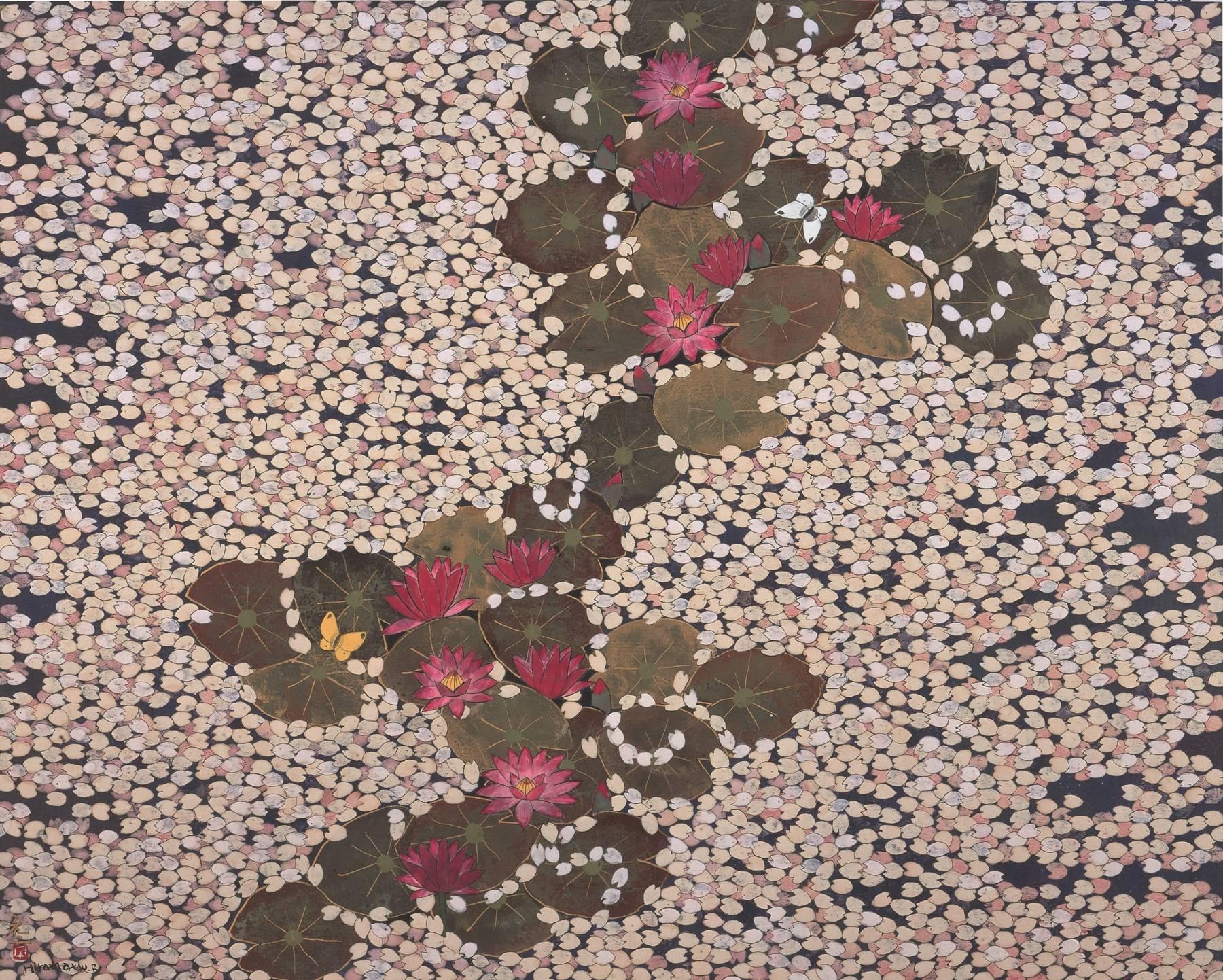 Hiramatsu Reiji, Cerisiers et nymphéas
