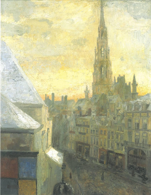 James Ensor, Hôtel de ville de Bruxelles