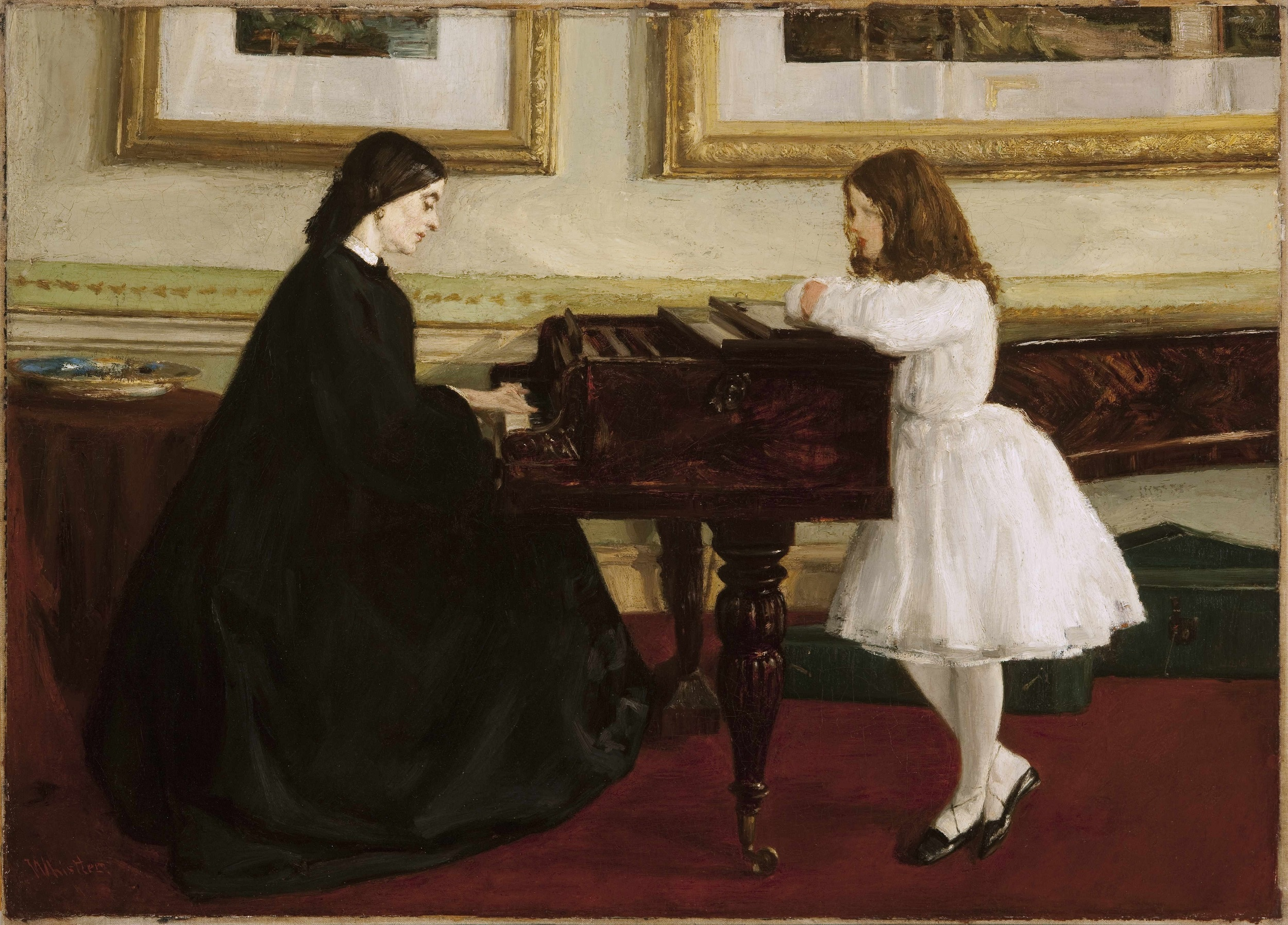 James McNeill Whistler, Au piano