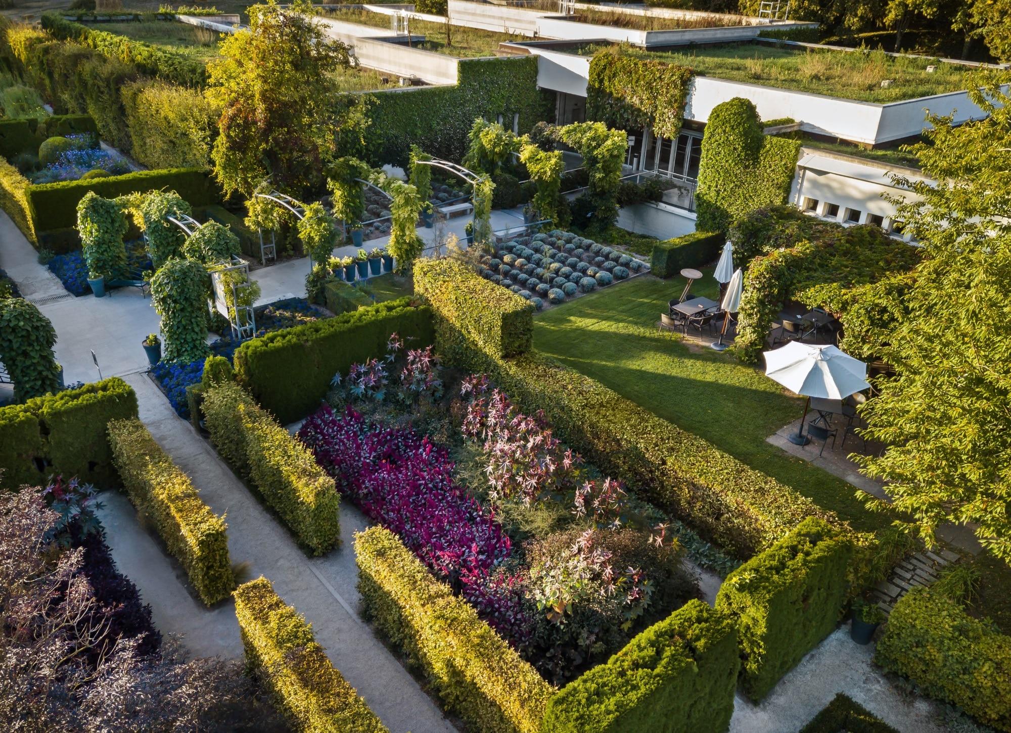 Le jardin du musée des impressionnismes Giverny