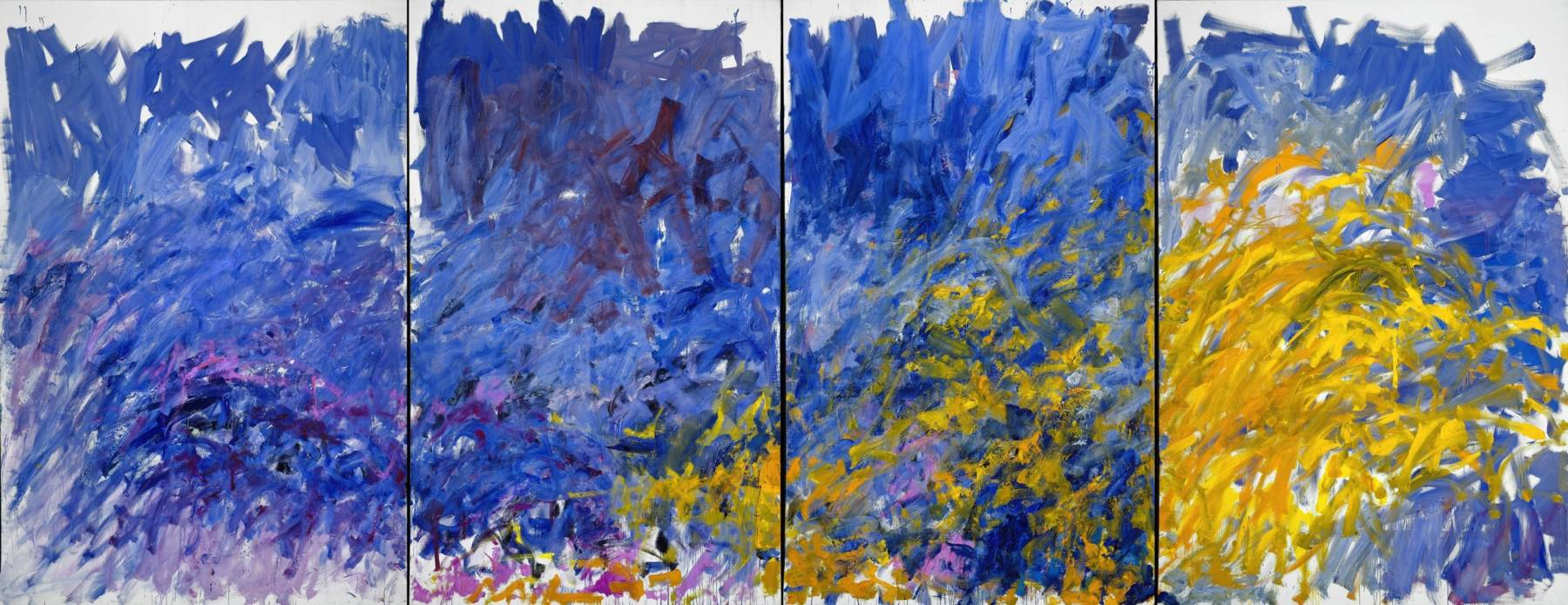 Joan Mitchell, Edrita Fried