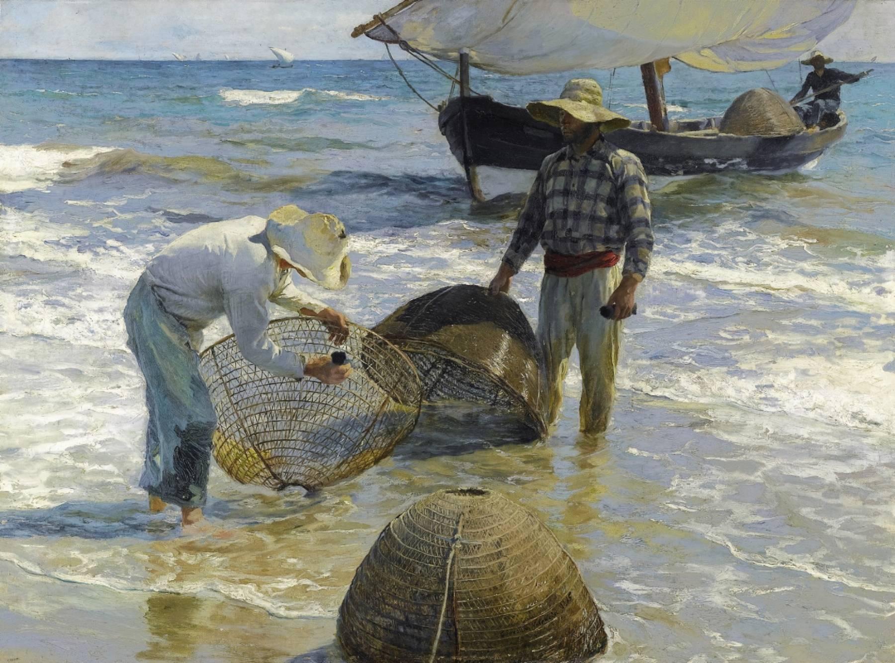 Joaquín Sorolla, Pêcheurs valenciens