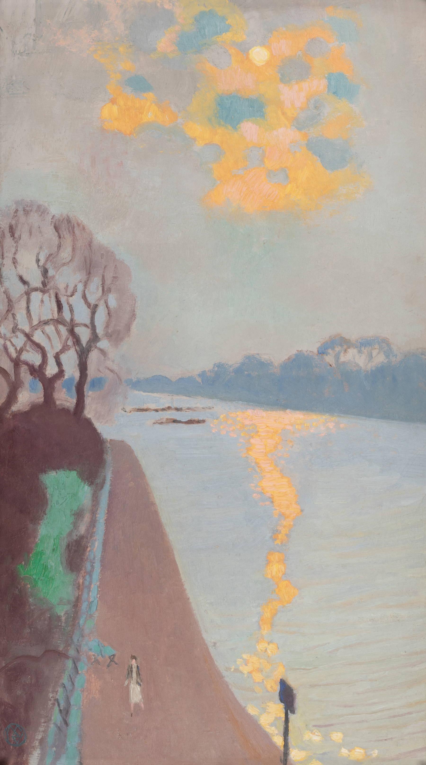 Maurice Denis, Reflet de soleil sur la rivière