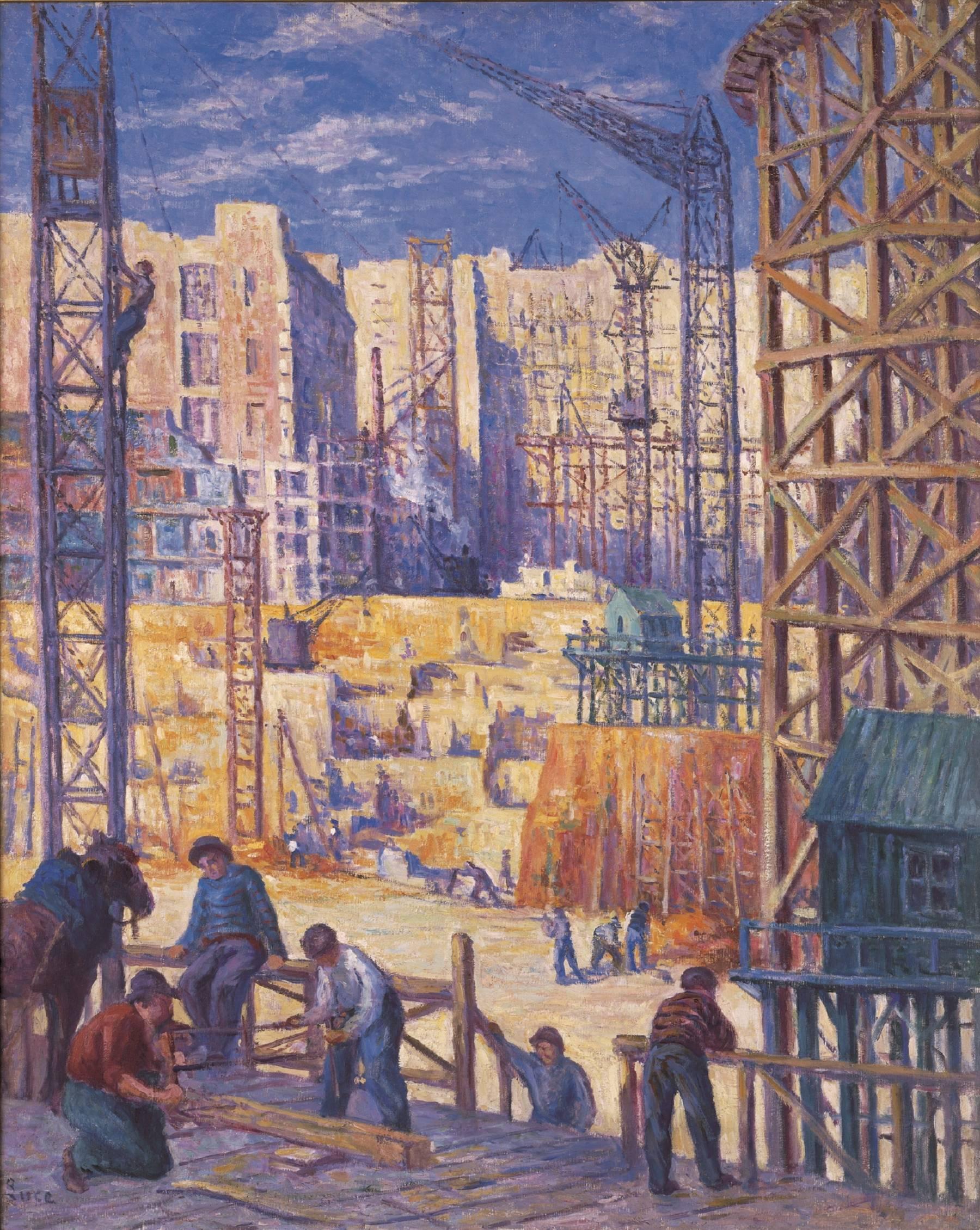 Maximilien Luce, Constructions-quai de Passy