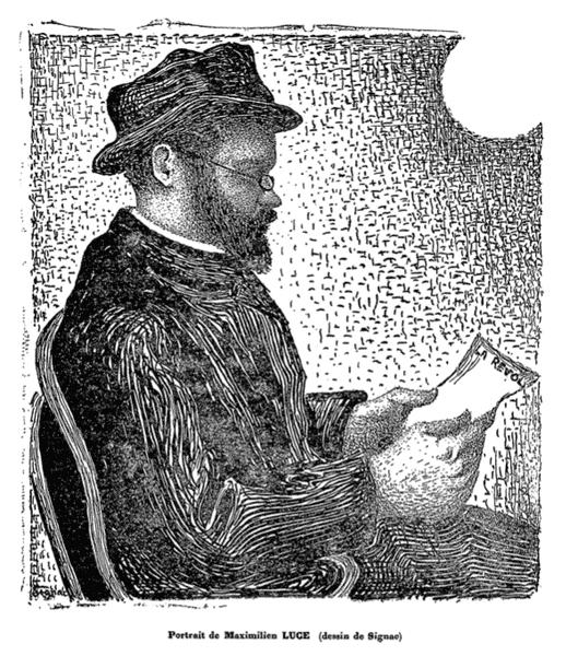 Paul Signac, Portrait de Maximilien Luce