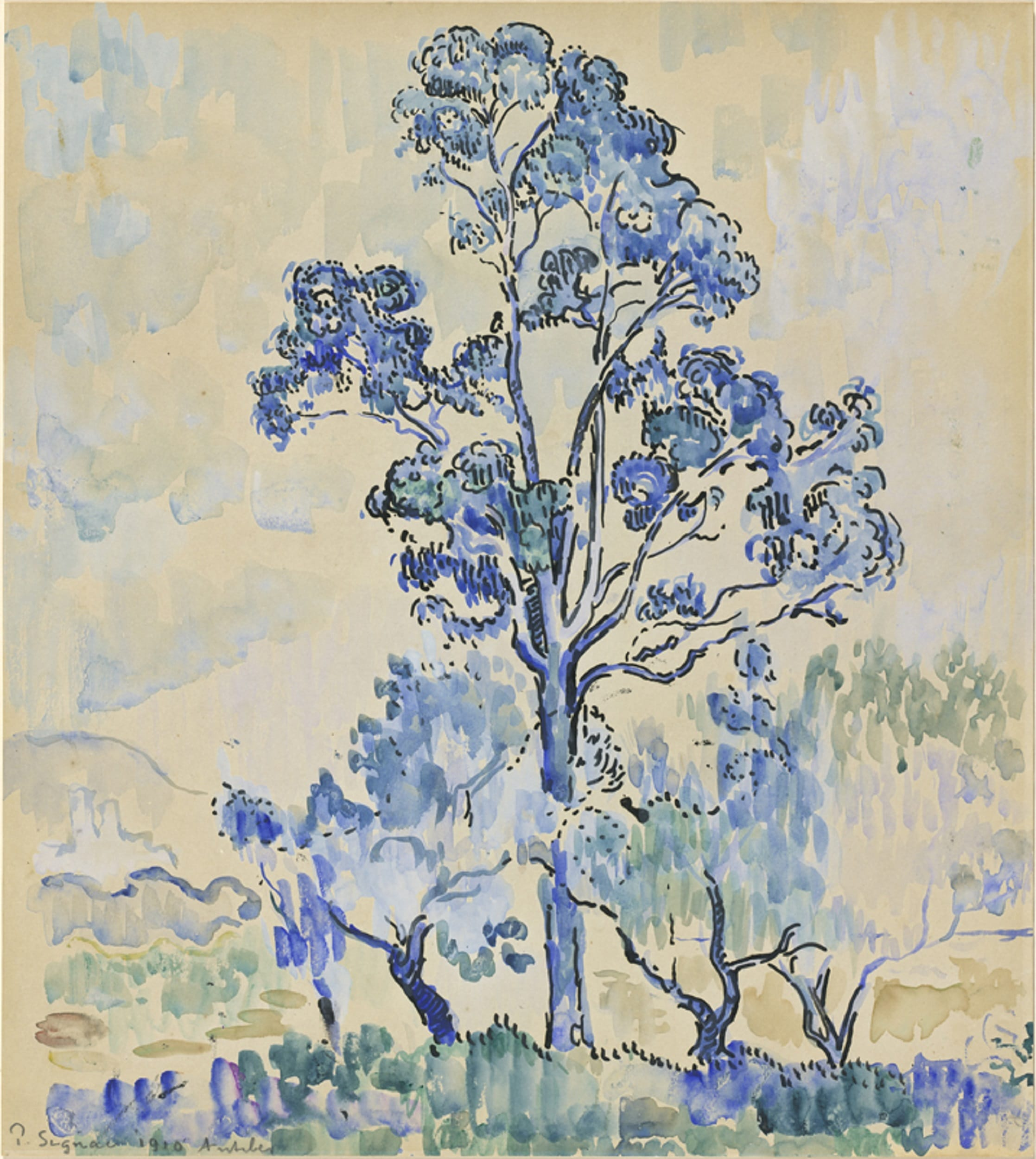 Paul Signac, Eucalyptus à Antibes