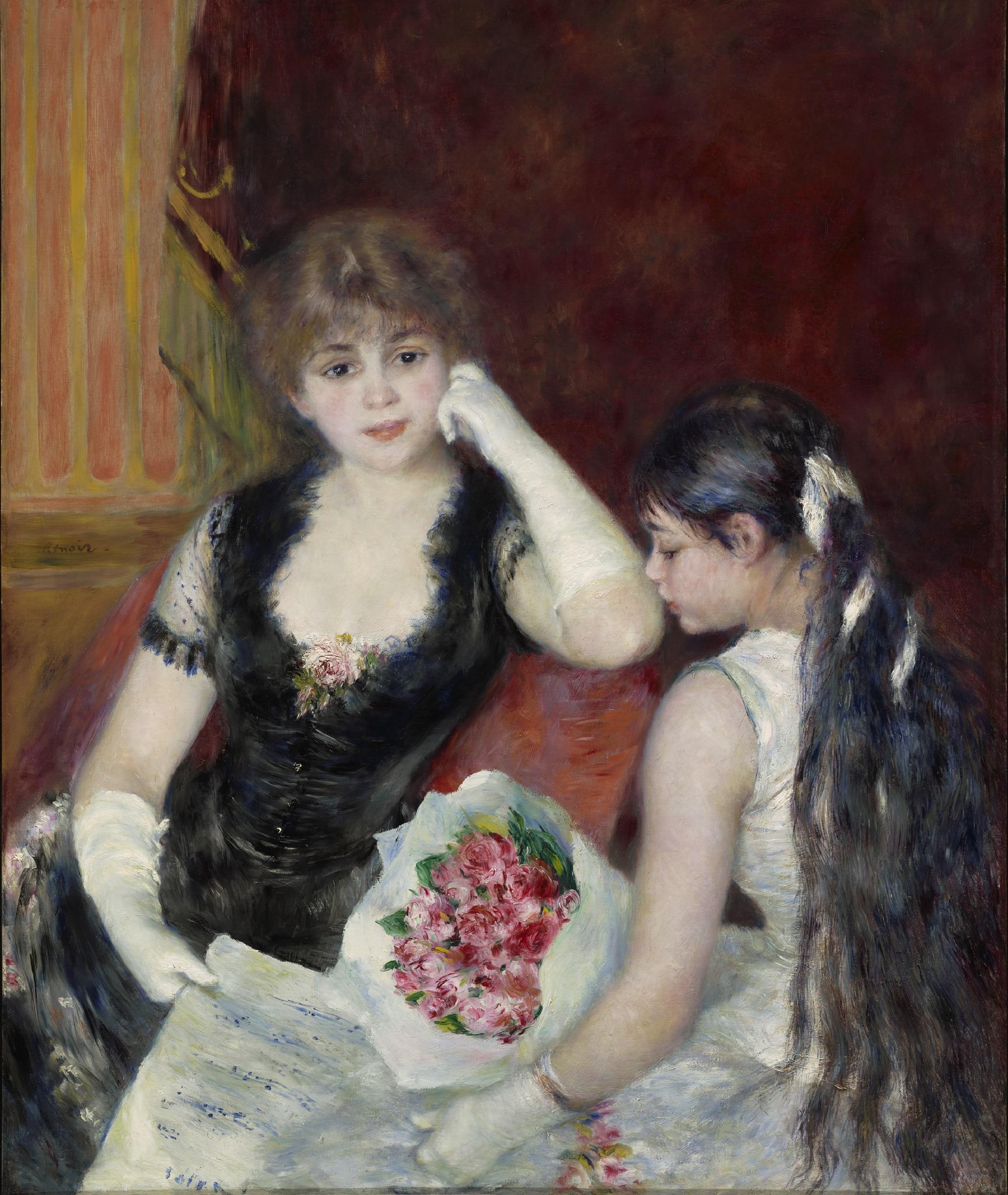 Pierre-Auguste Renoir, Une loge au théâtre (Au concert)