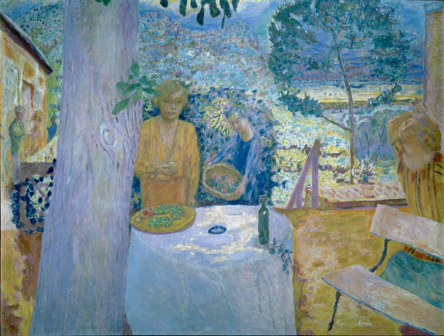 Pierre Bonnard, Décor à Vernon (La Terrasse à Vernon)