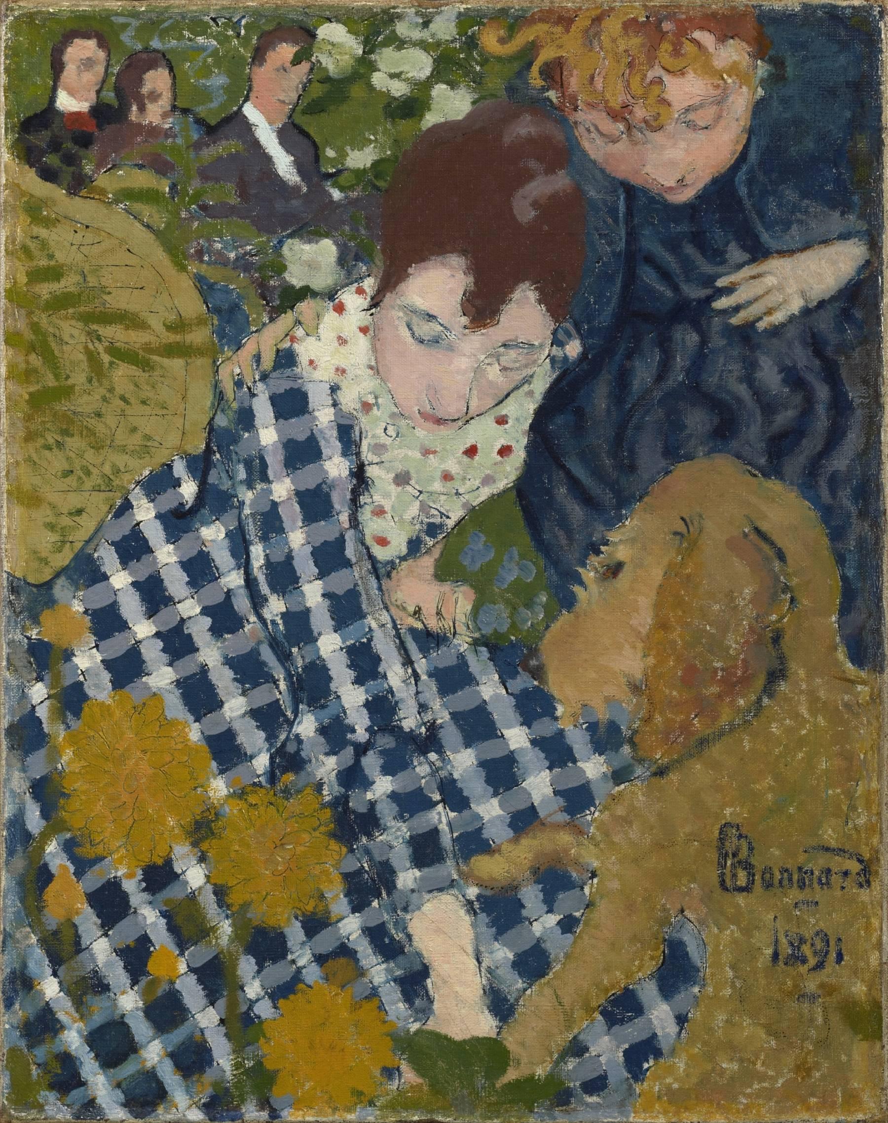 Pierre Bonnard, Femmes au chien