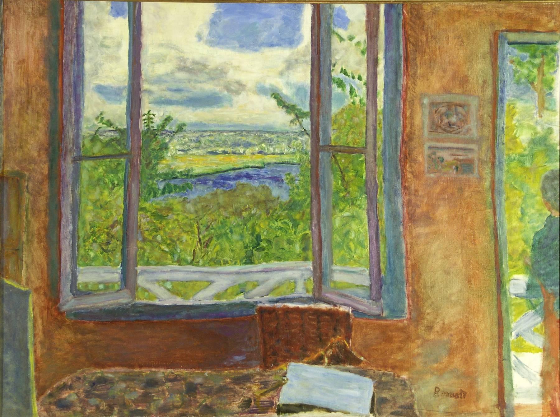 Pierre Bonnard, Fenêtre ouverte sur la Seine (Vernon)