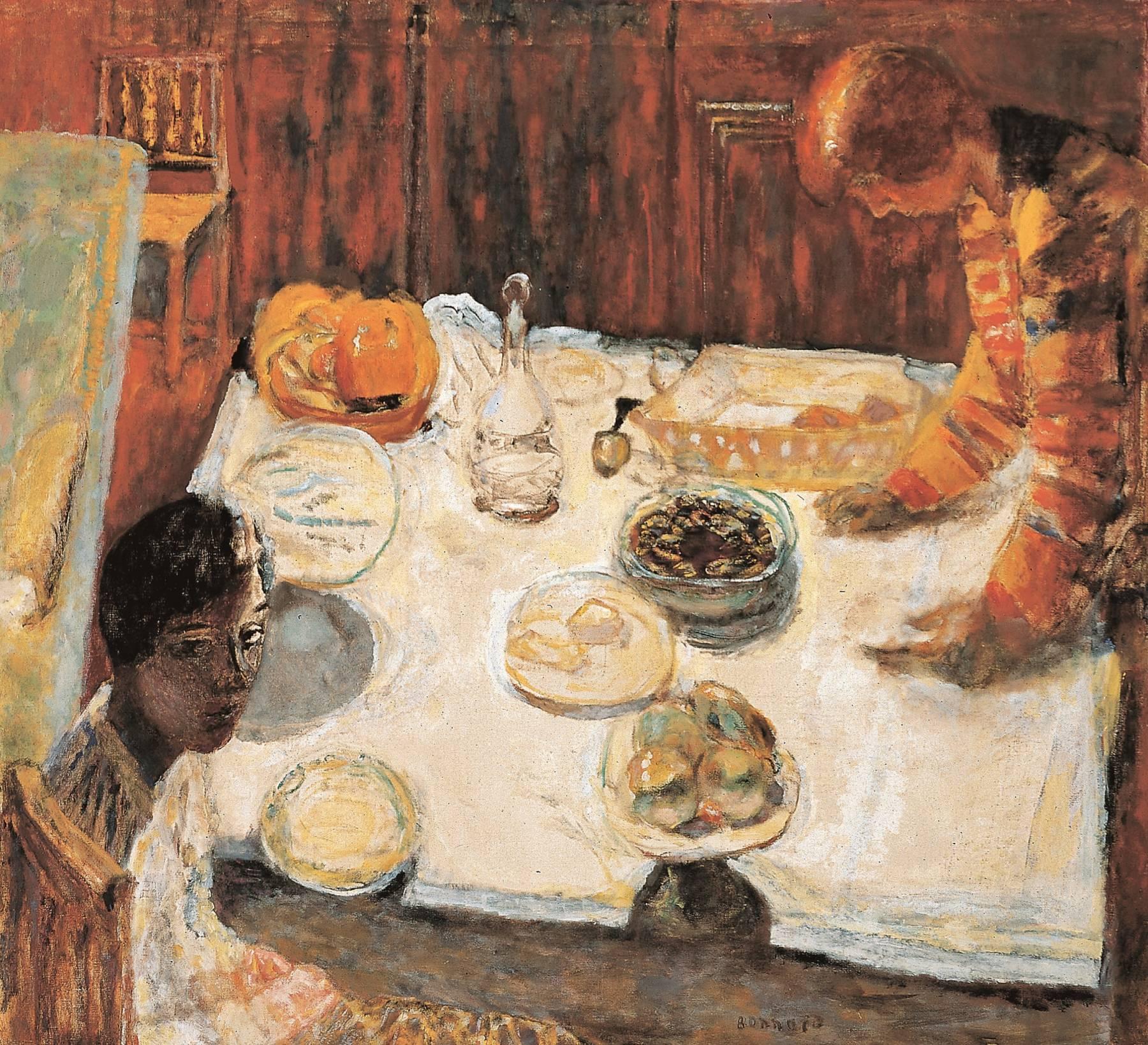 Pierre Bonnard, La Nappe blanche