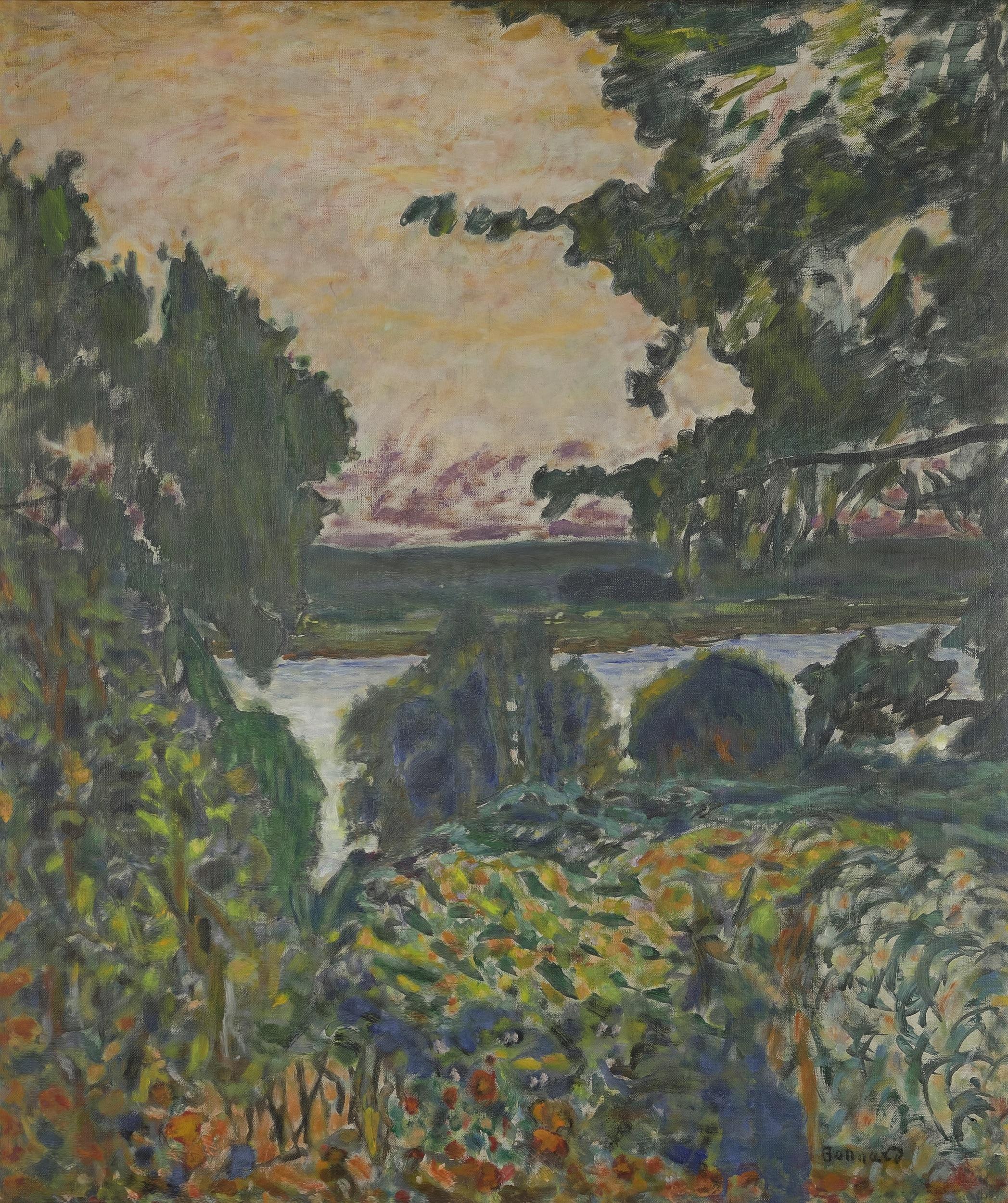 Pierre Bonnard, La Seine à Vernon