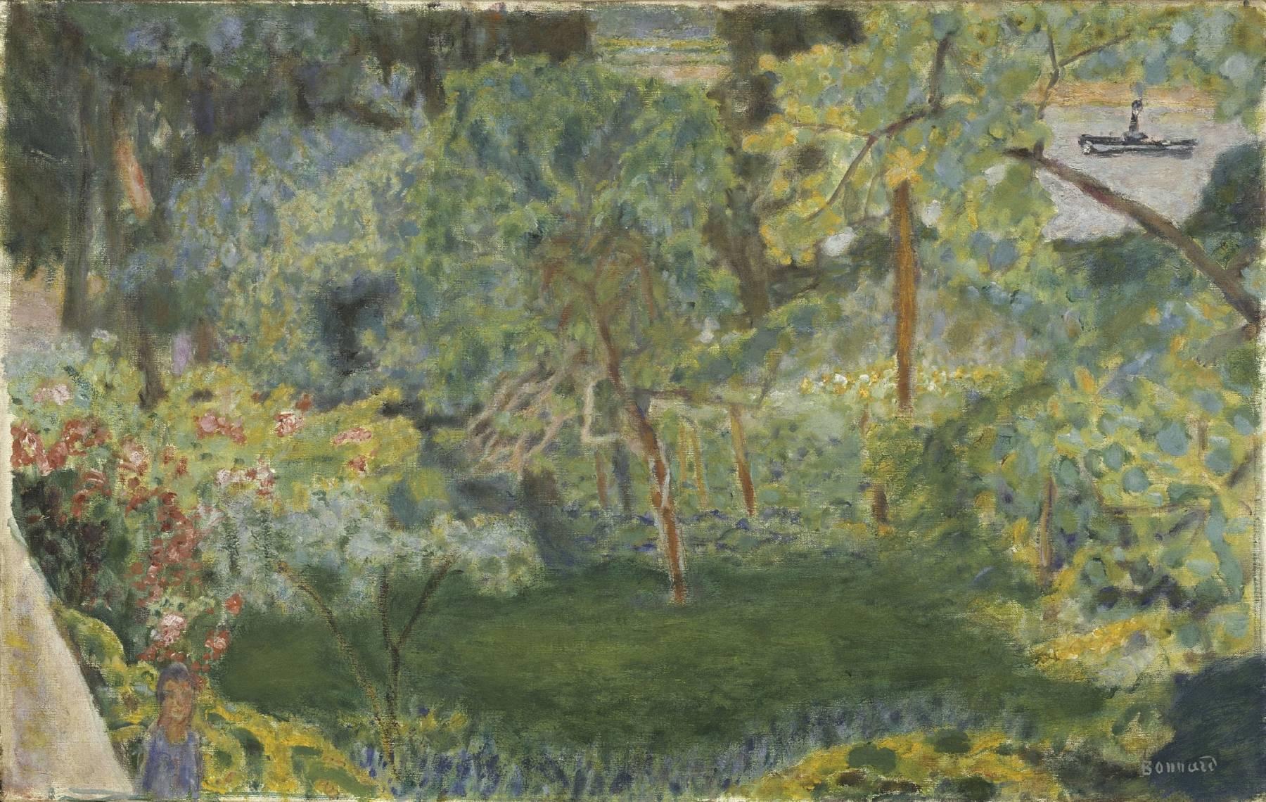 Pierre Bonnard, Paysage au remorqueur