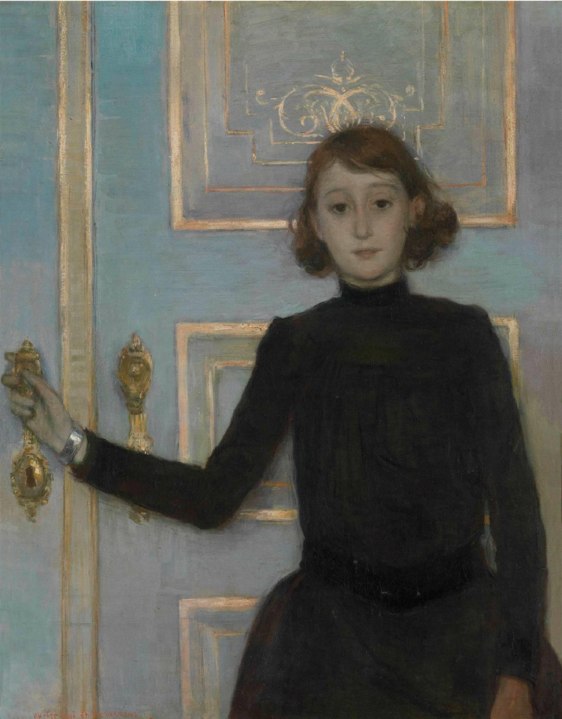 Théo Van Rysselberghe, Portrait de Marguerite Van Mons