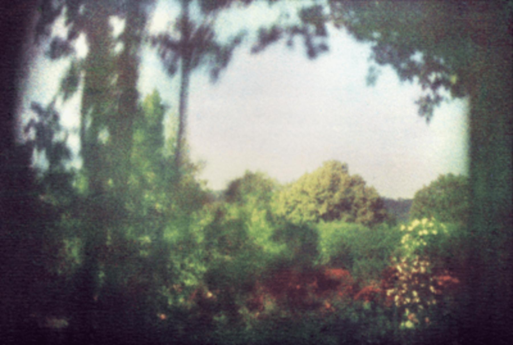 Bernard Plossu, Vue depuis la chambre de Claude Monet, Giverny