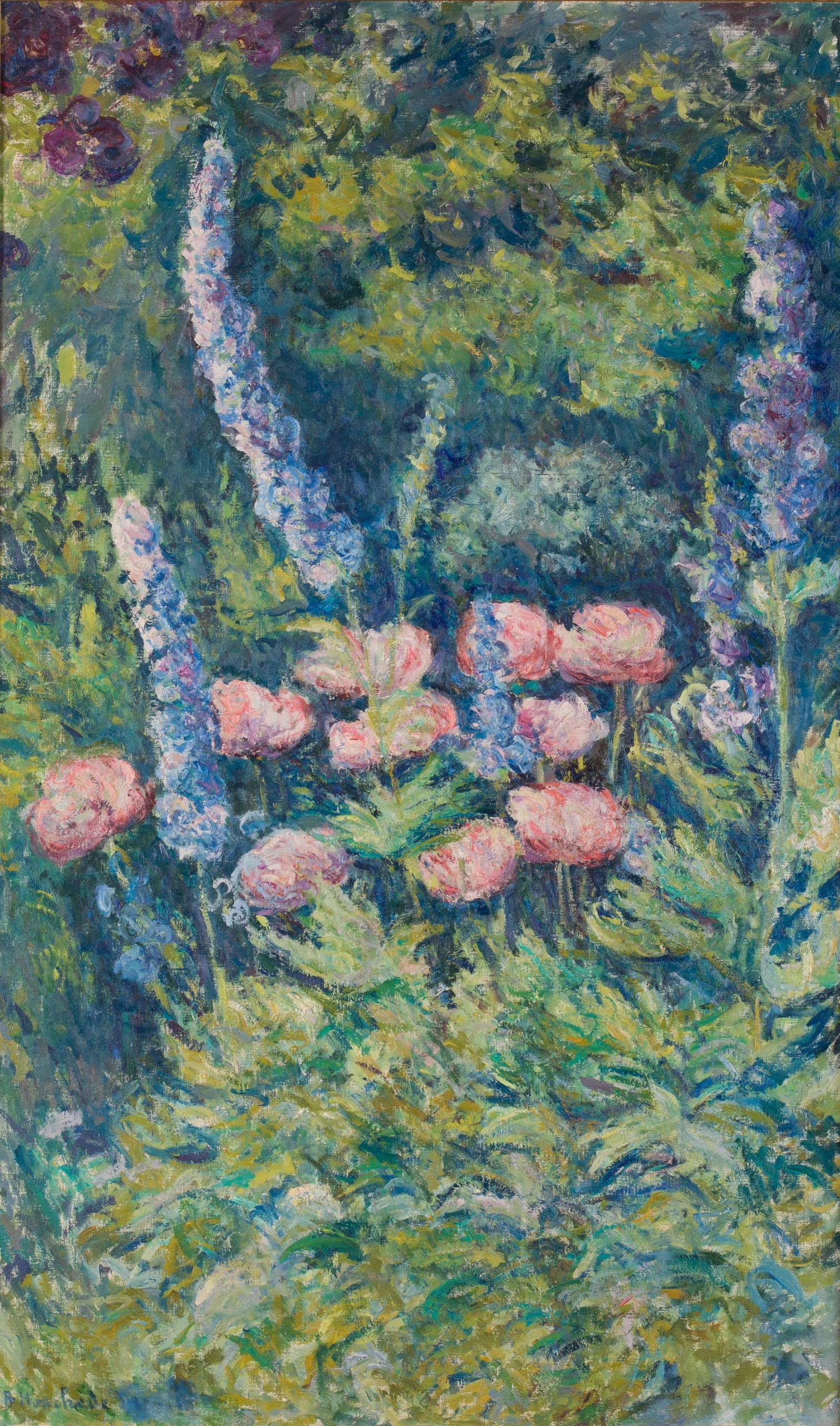 Blanche Hoschedé-Monet, Lupins et pavots