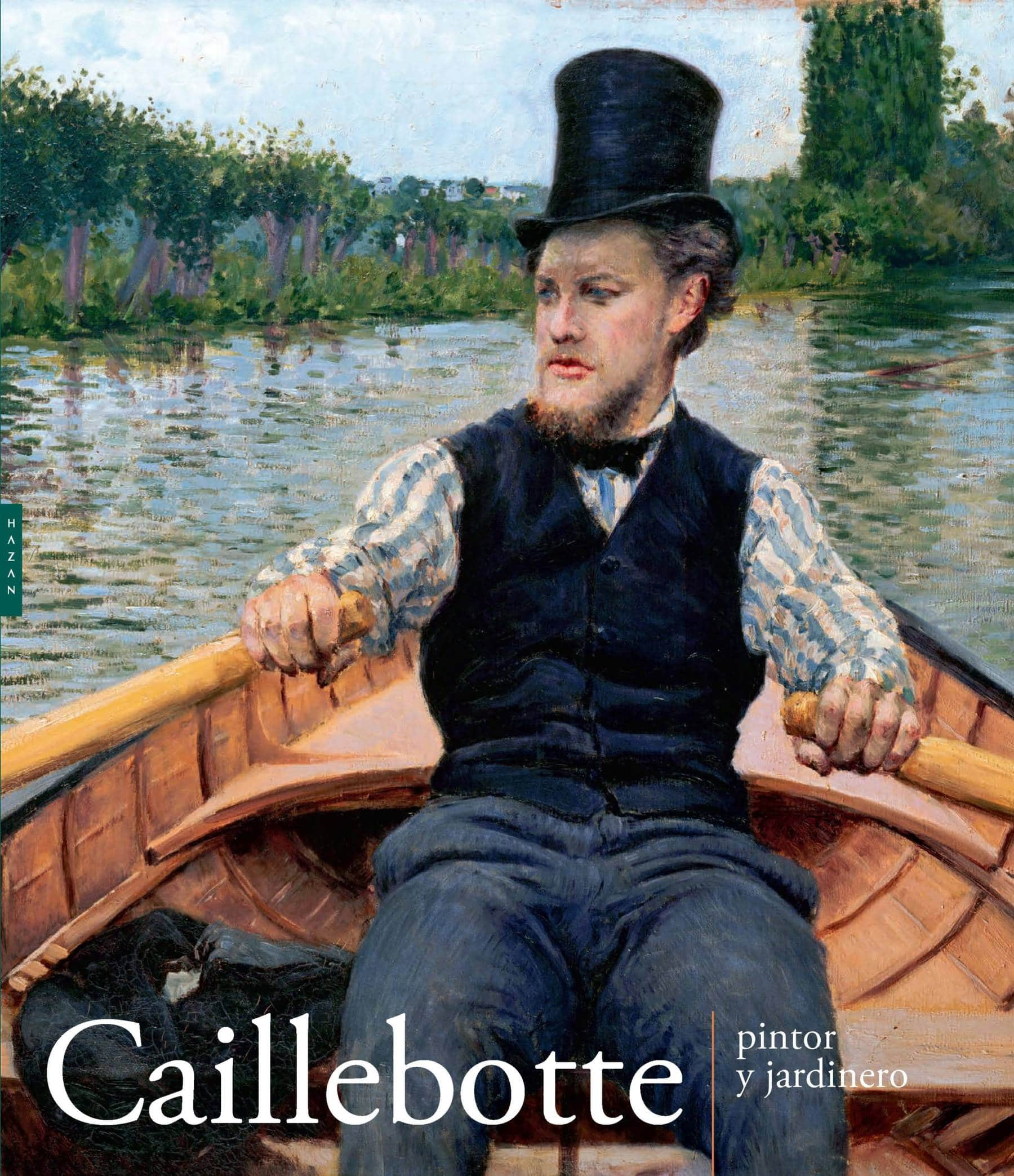 couverture catalogue exposition Caillebotte pintor y jardinero