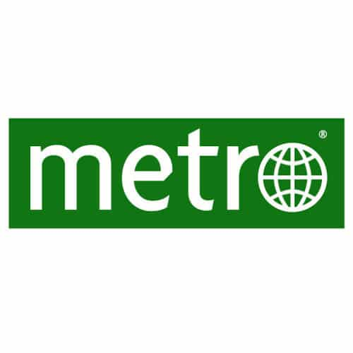 Logo du journal Metro