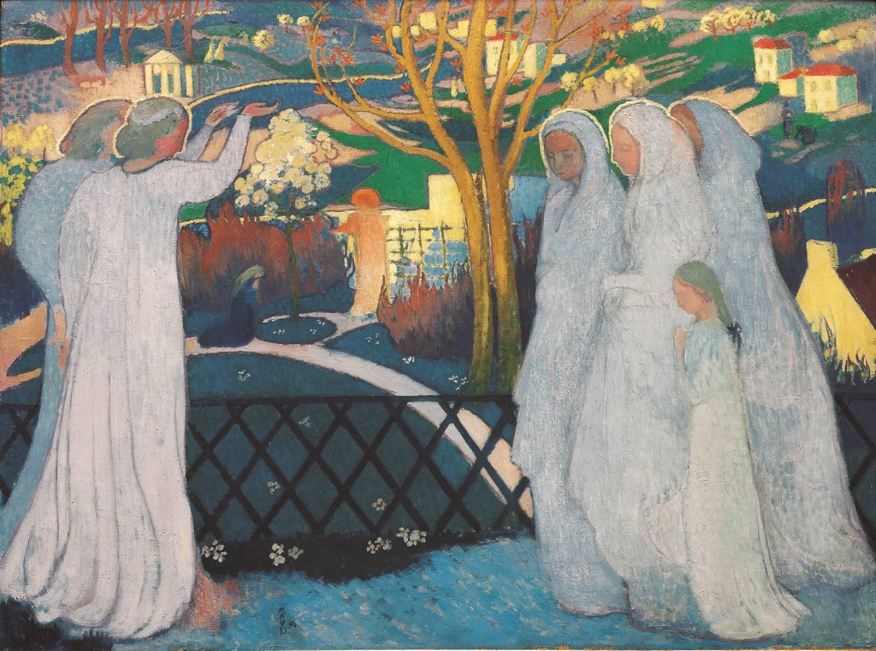 Maurice Denis, Matinée de Pâques, ou Saintes femmes au tombeau