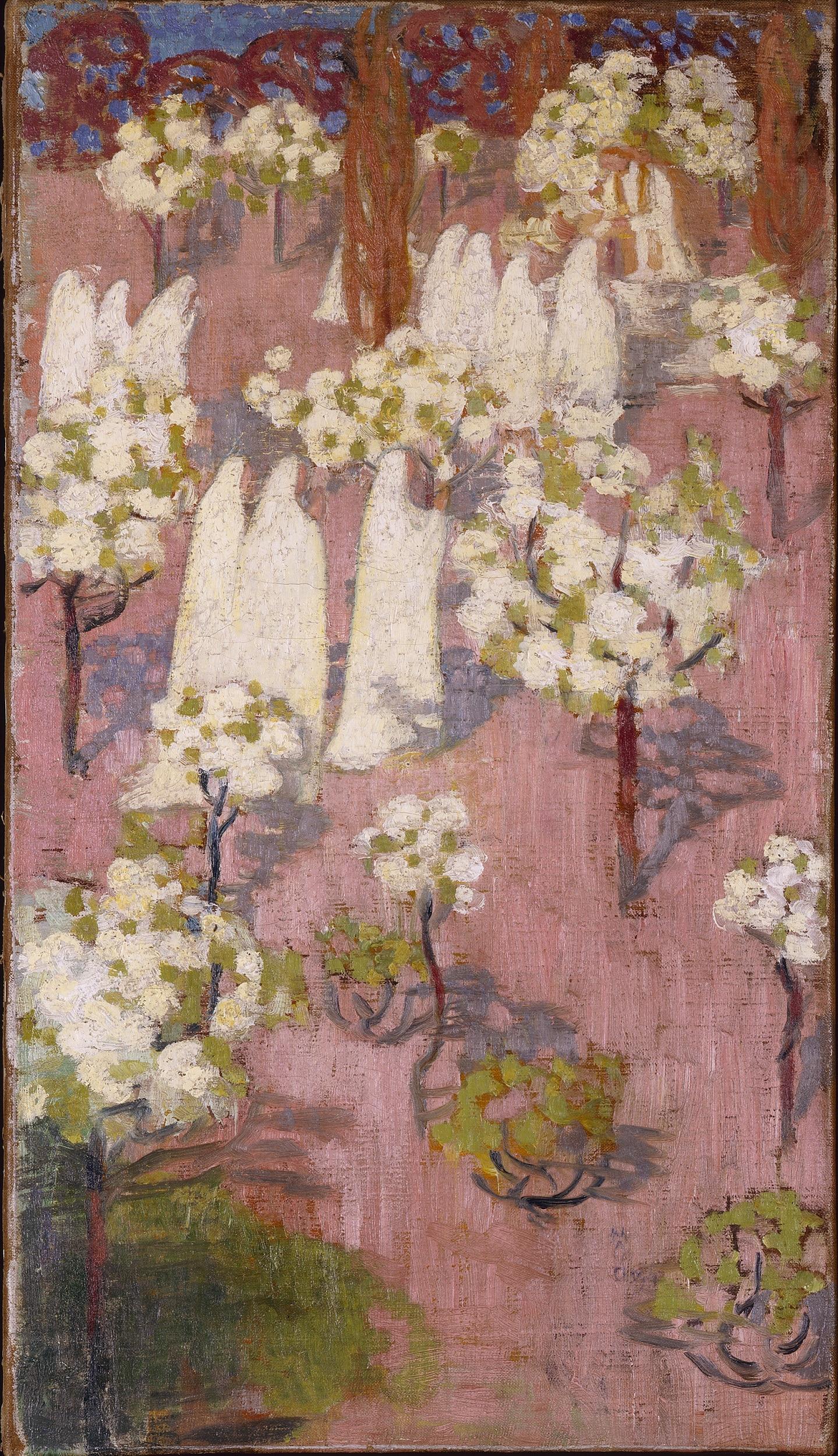 Maurice Denis, Virginal printemps (pommiers en fleur)