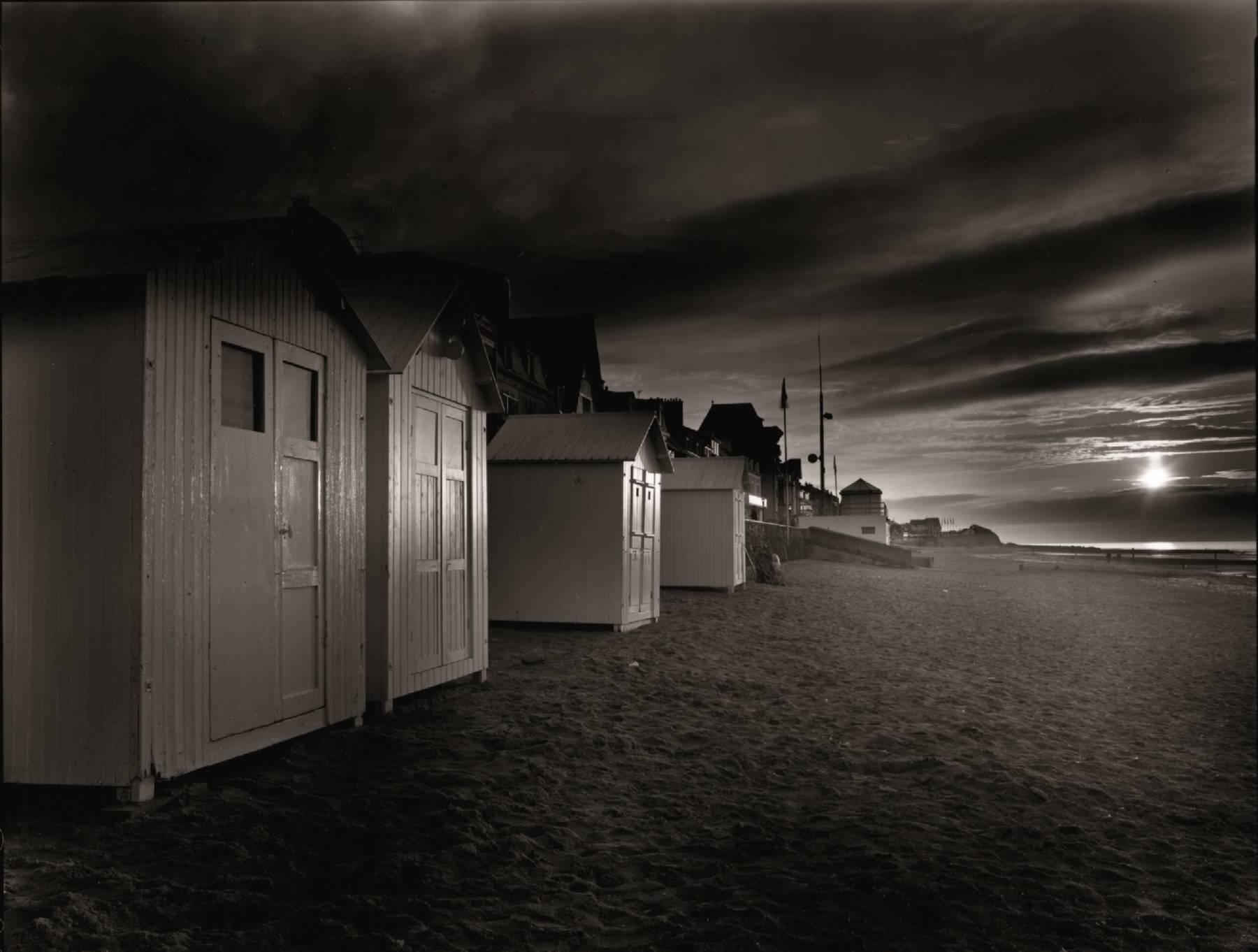 Olivier Mériel, Cabines de plage, Saint-Aubin-sur-Mer