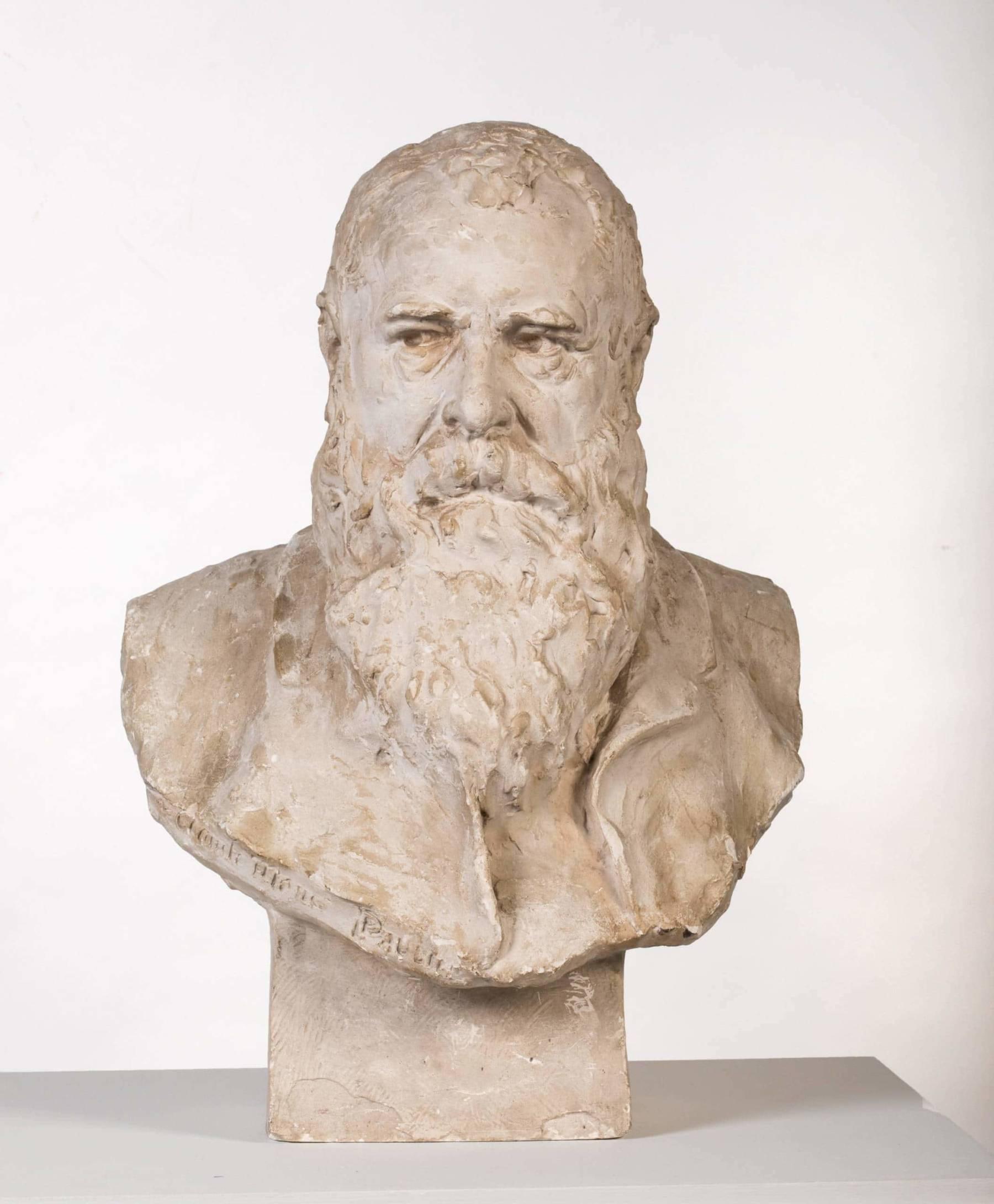 Paul Paulin, Buste de Claude Monet