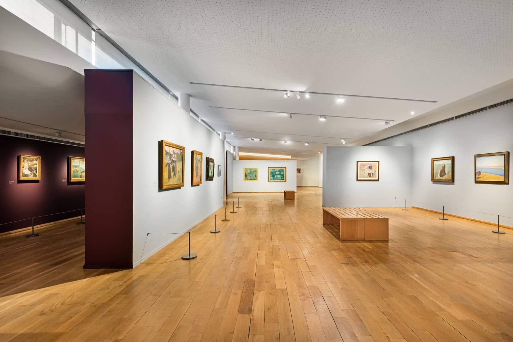 Galeries d'exposition du musée des impressionnismes Giverny