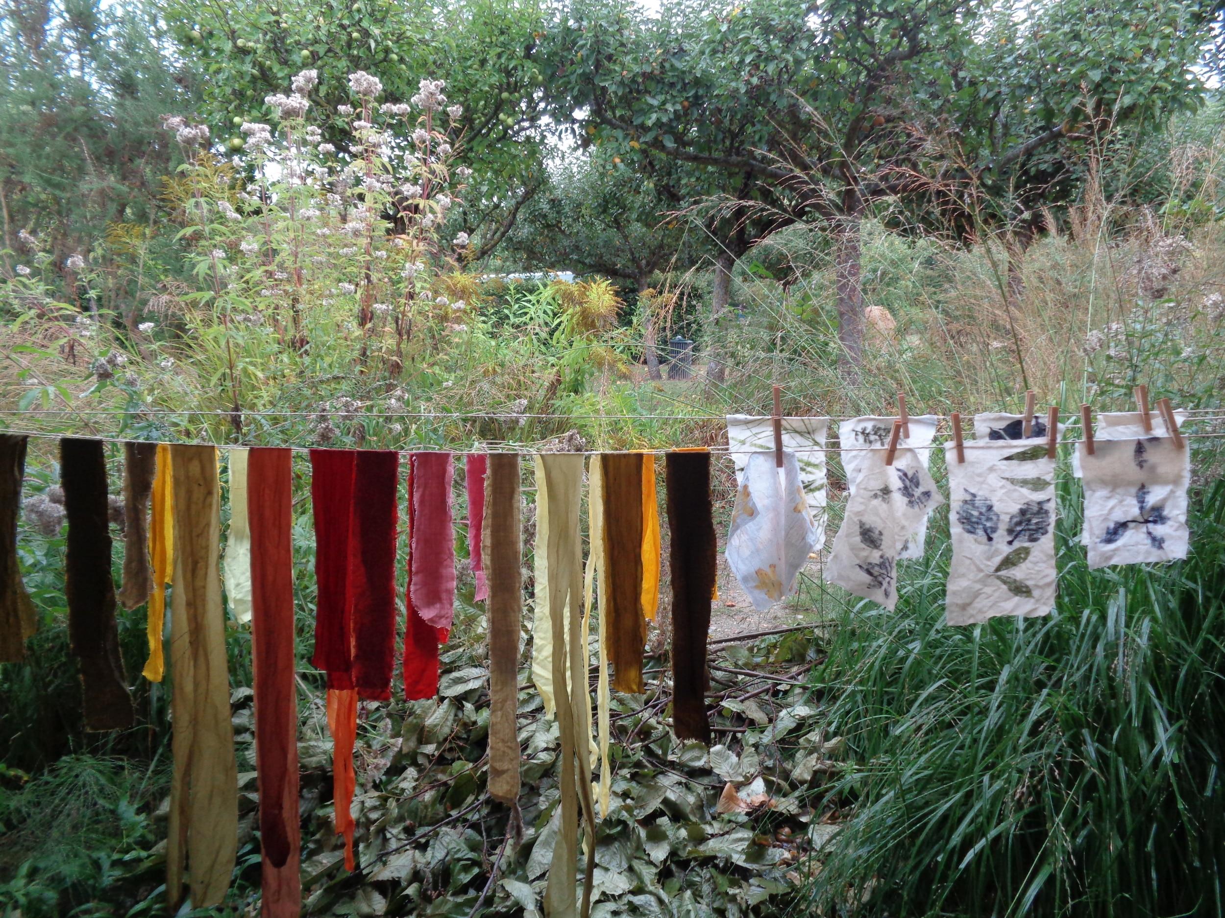 Atelier teintures et couleurs au jardin au musée des impressionnismes Giverny