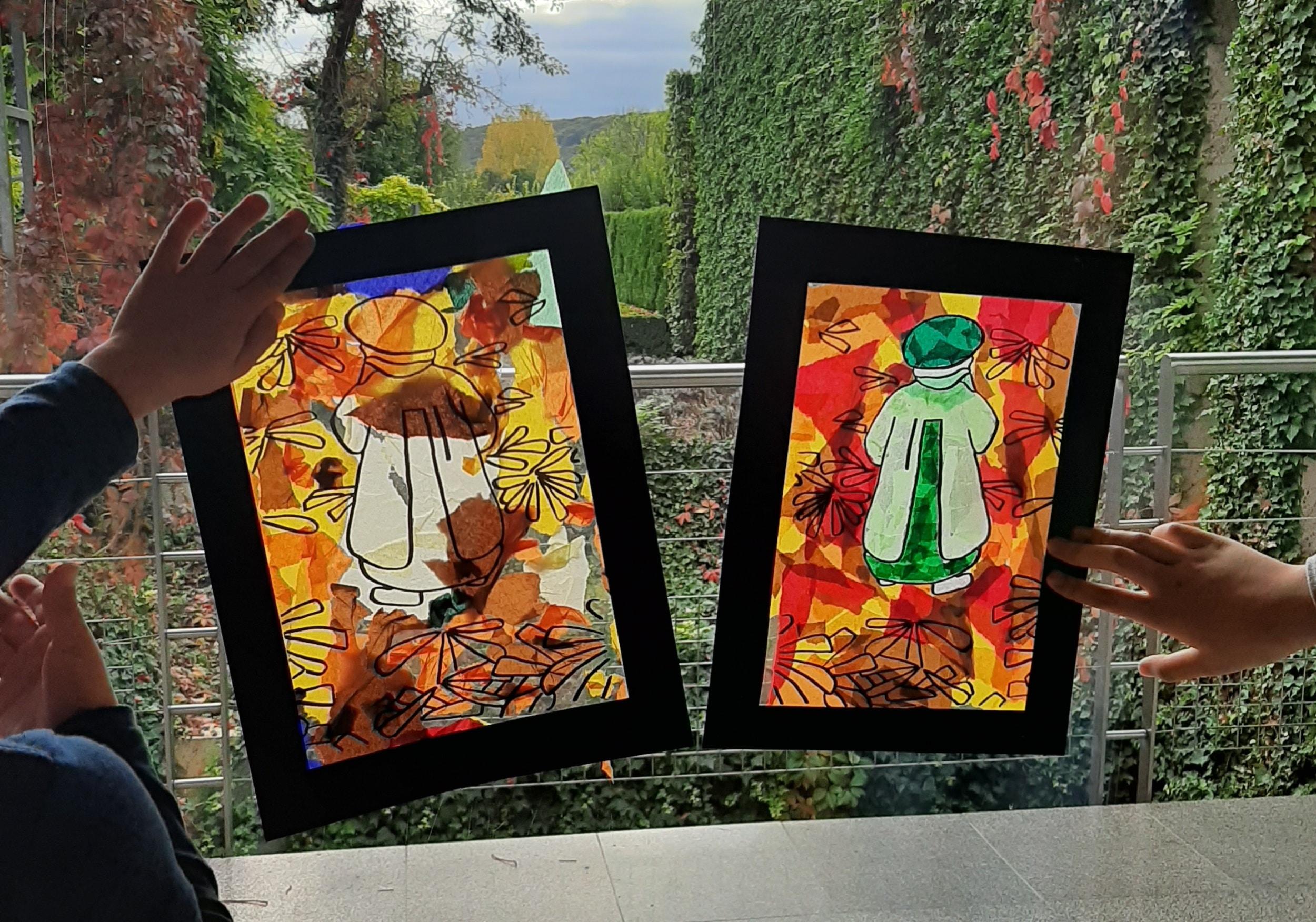 Atelier enfant du Club des Impressionnautes au musée des impressionnismes Giverny
